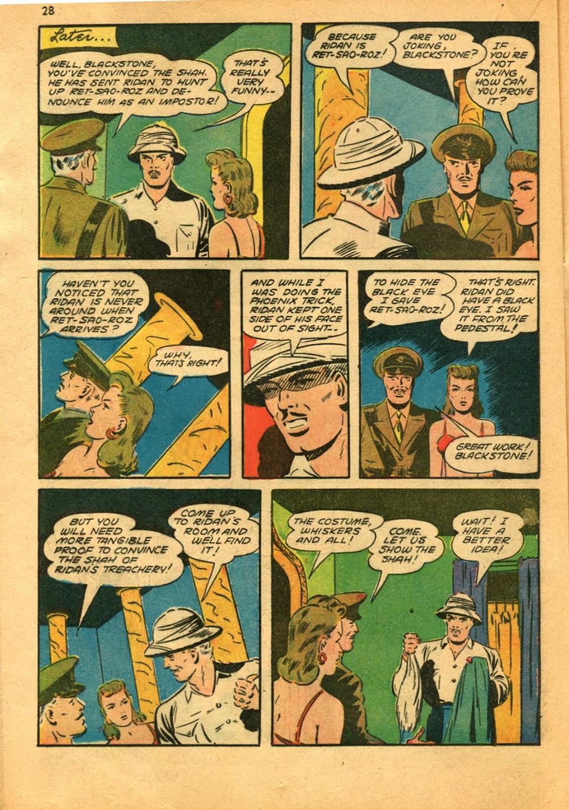 Read online Super-Magician Comics comic -  Issue #11 - 28