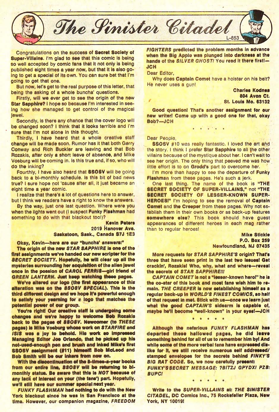 Read online Secret Society of Super-Villains comic -  Issue #13 - 19