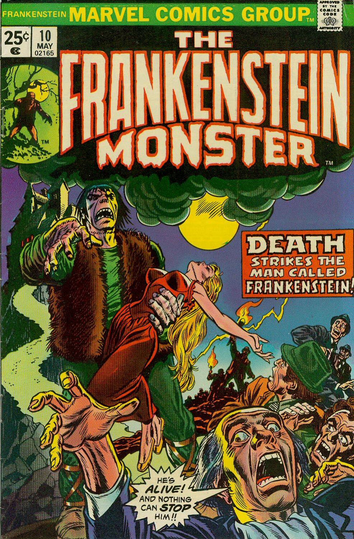 Frankenstein (1973) issue 10 - Page 1