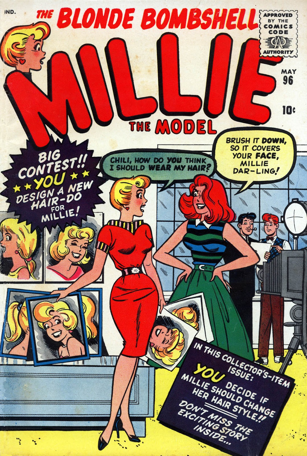 Millie the Model issue 96 - Page 1