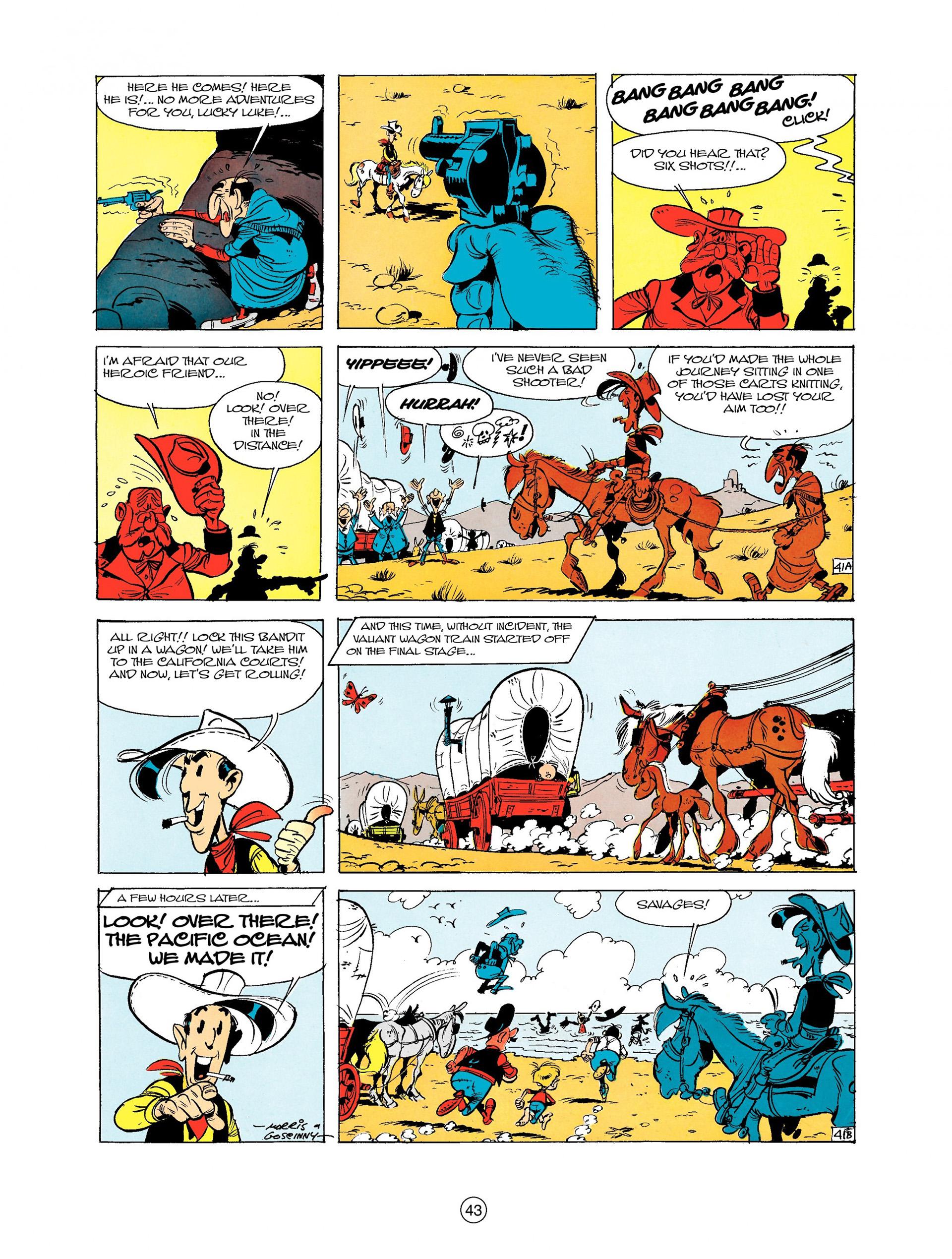 Read online A Lucky Luke Adventure comic -  Issue #9 - 43