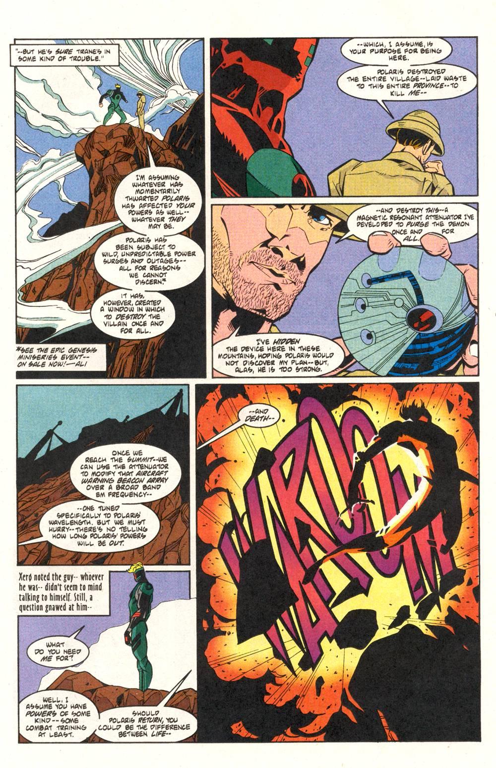 Read online Xero comic -  Issue #6 - 17
