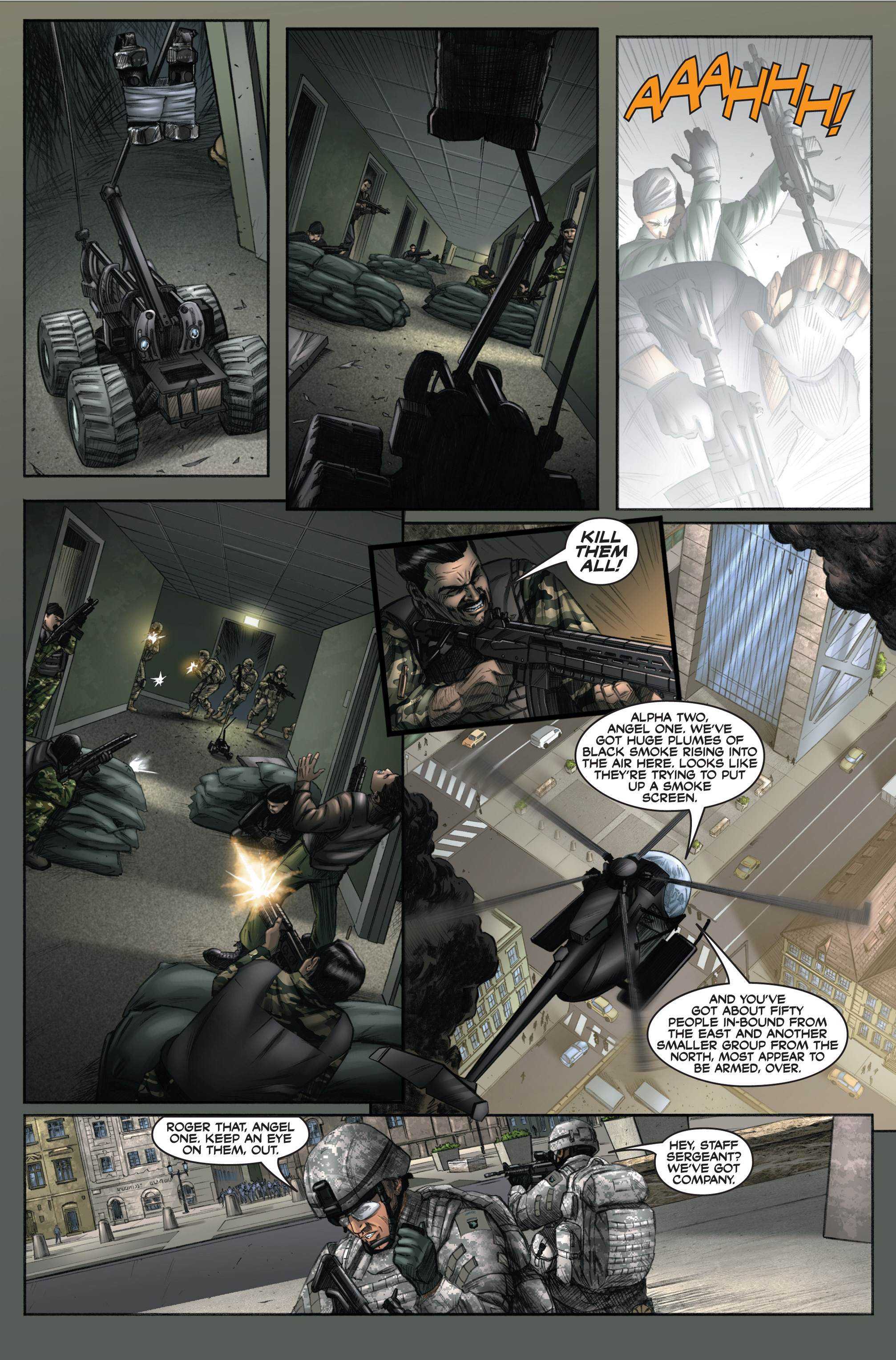 Read online America's Army comic -  Issue #6 - 15