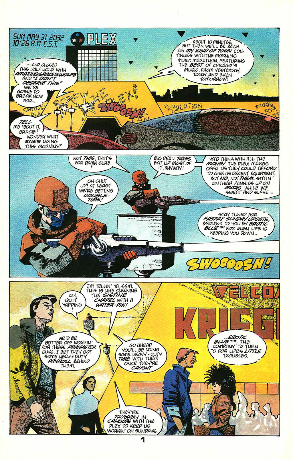 Read online American Flagg! comic -  Issue #48 - 3