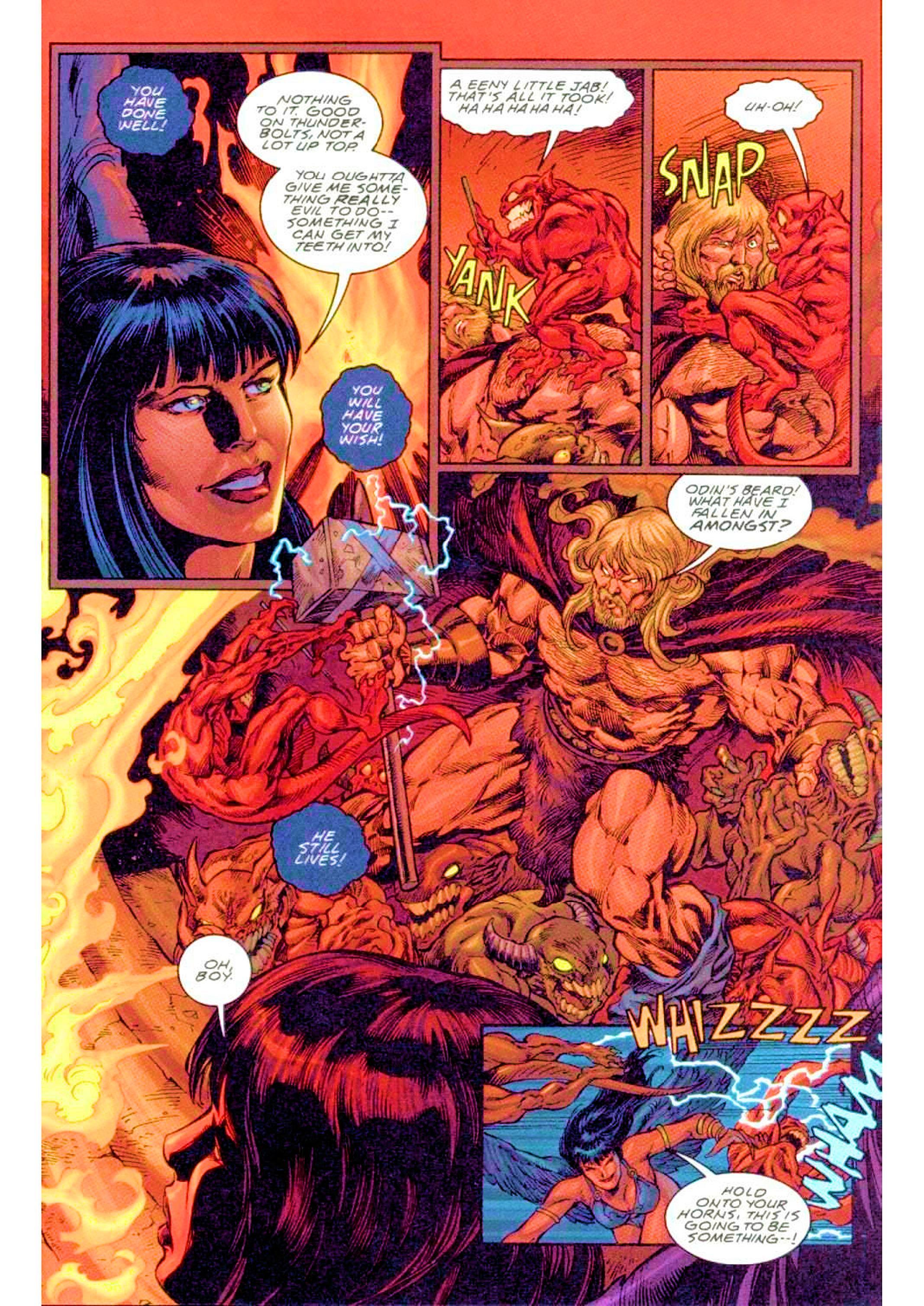 Read online Xena: Warrior Princess (1999) comic -  Issue #3 - 19