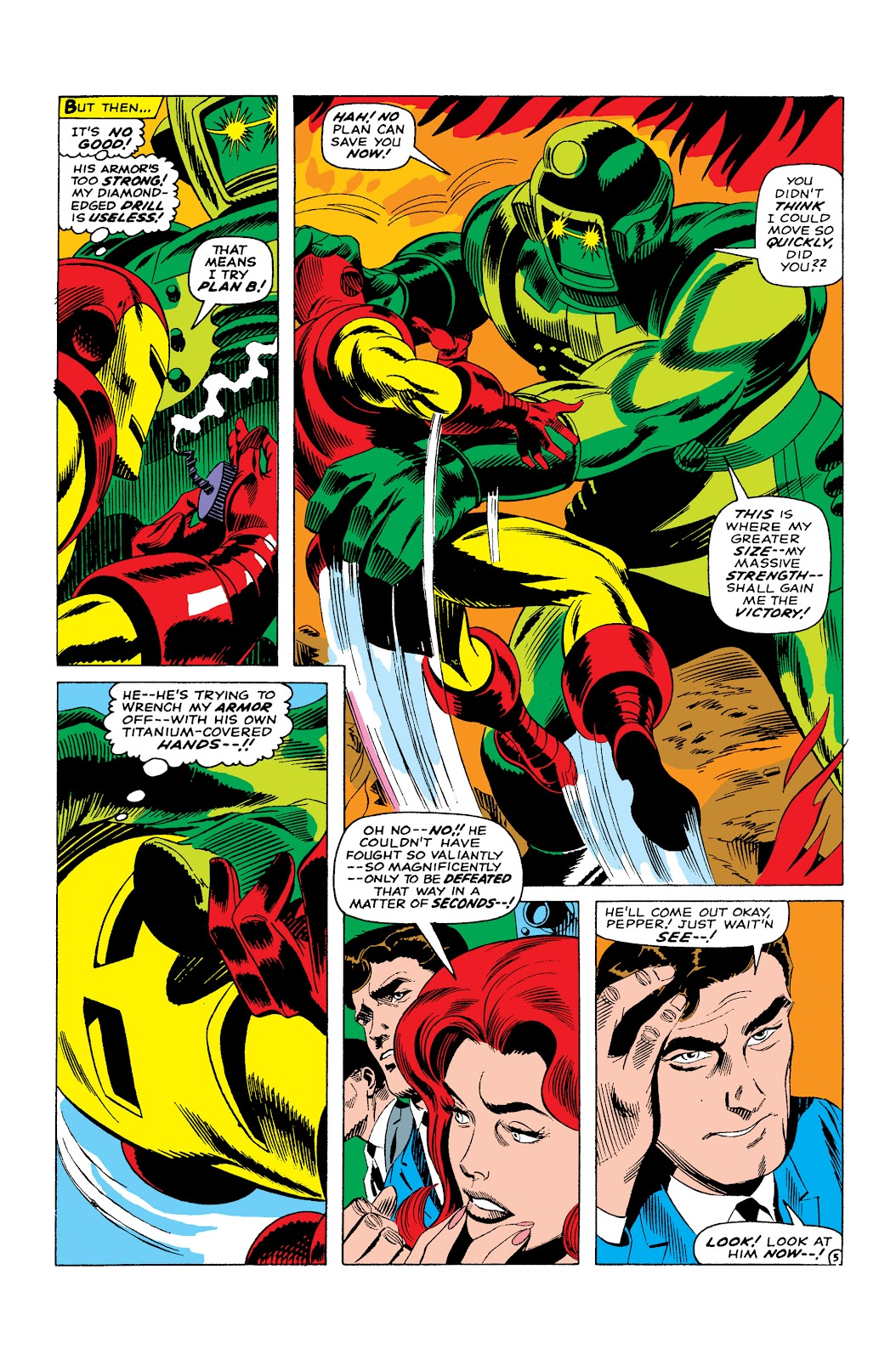Read online Marvel Masterworks: The Invincible Iron Man comic -  Issue # TPB 3 (Part 4) - 99