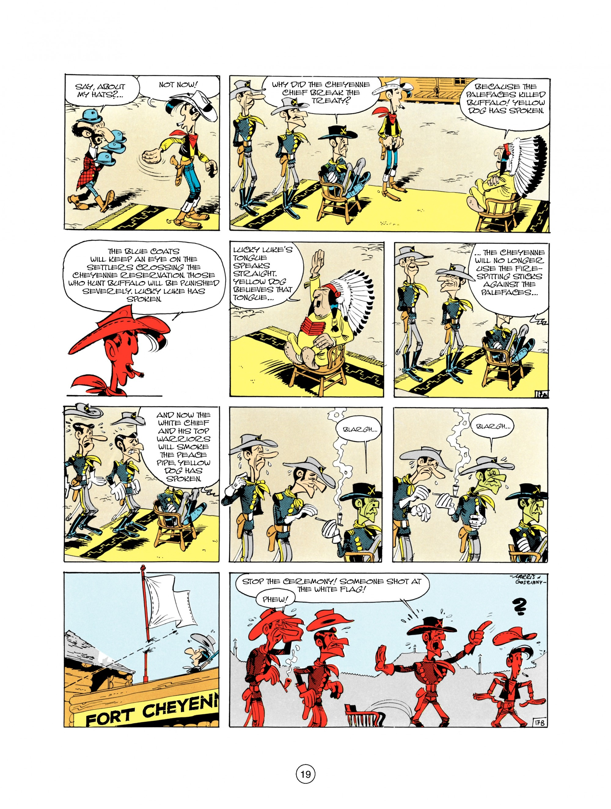 Read online A Lucky Luke Adventure comic -  Issue #21 - 19