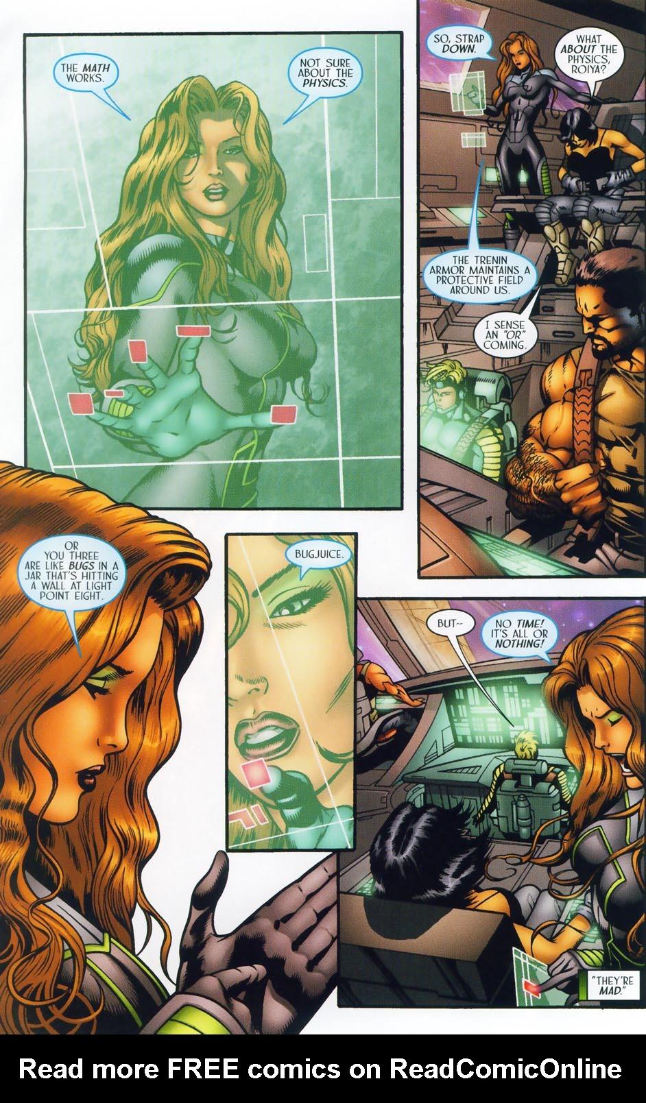 Read online Sigil (2000) comic -  Issue #37 - 15