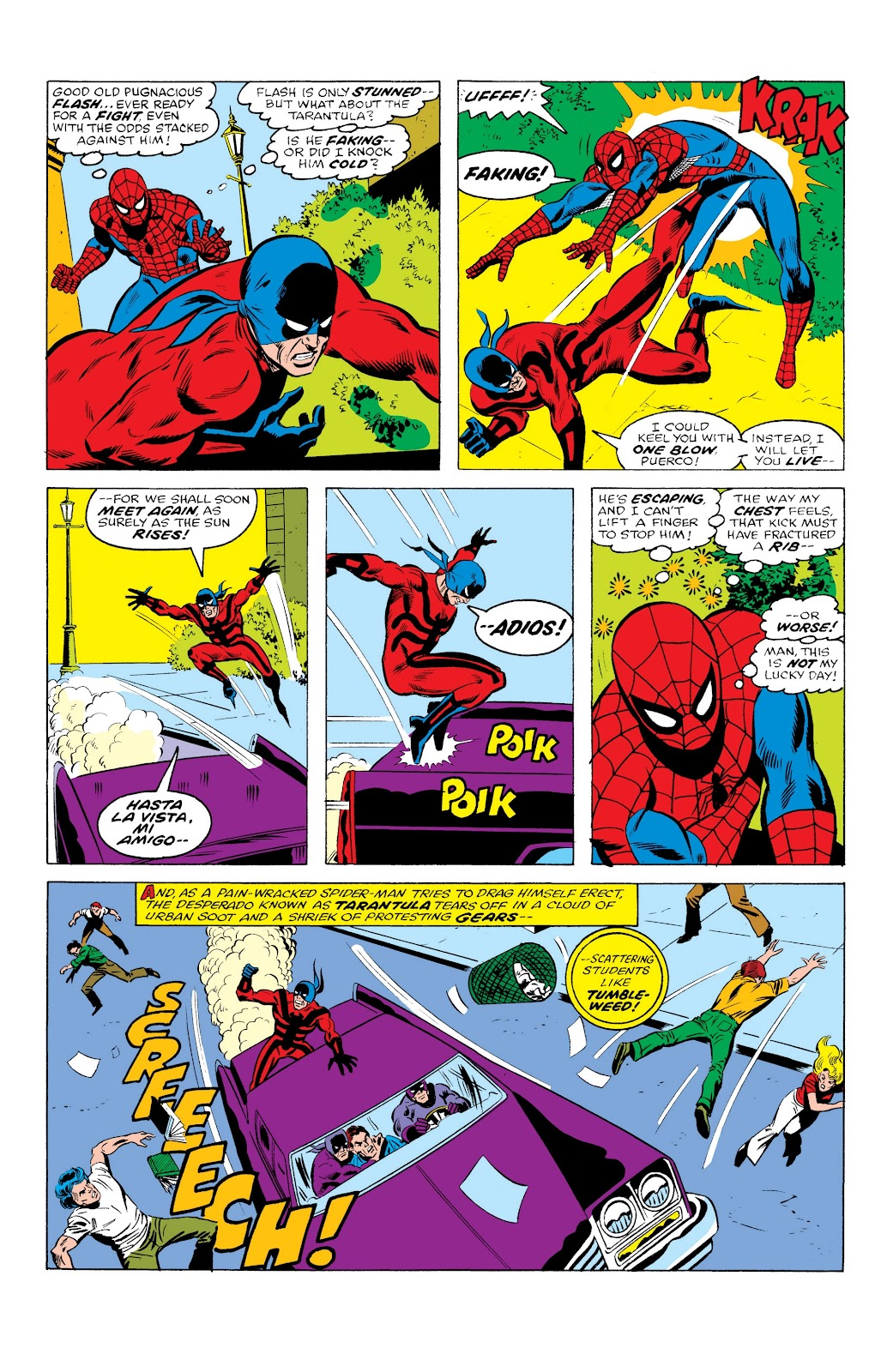 Read online Marvel Masterworks: The Spectacular Spider-Man comic -  Issue # TPB (Part 1) - 13