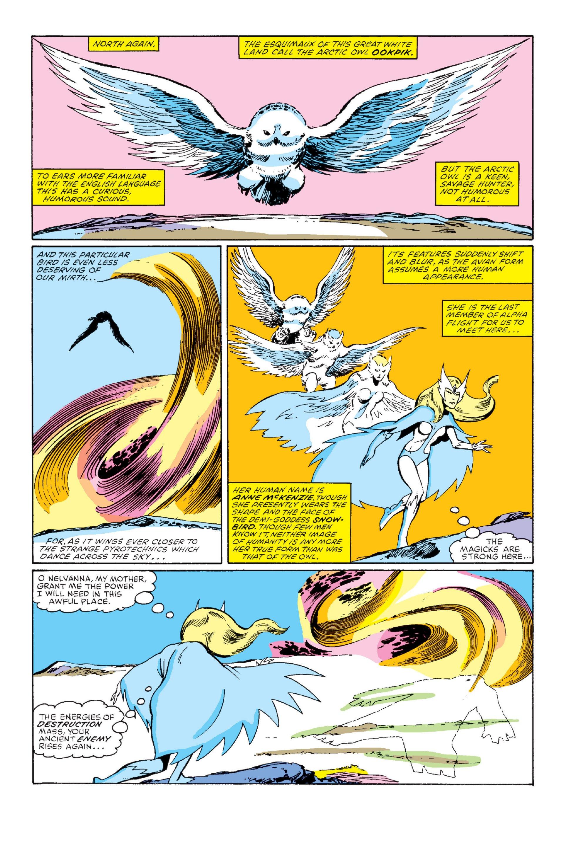 Read online Alpha Flight (1983) comic -  Issue #1 - 21