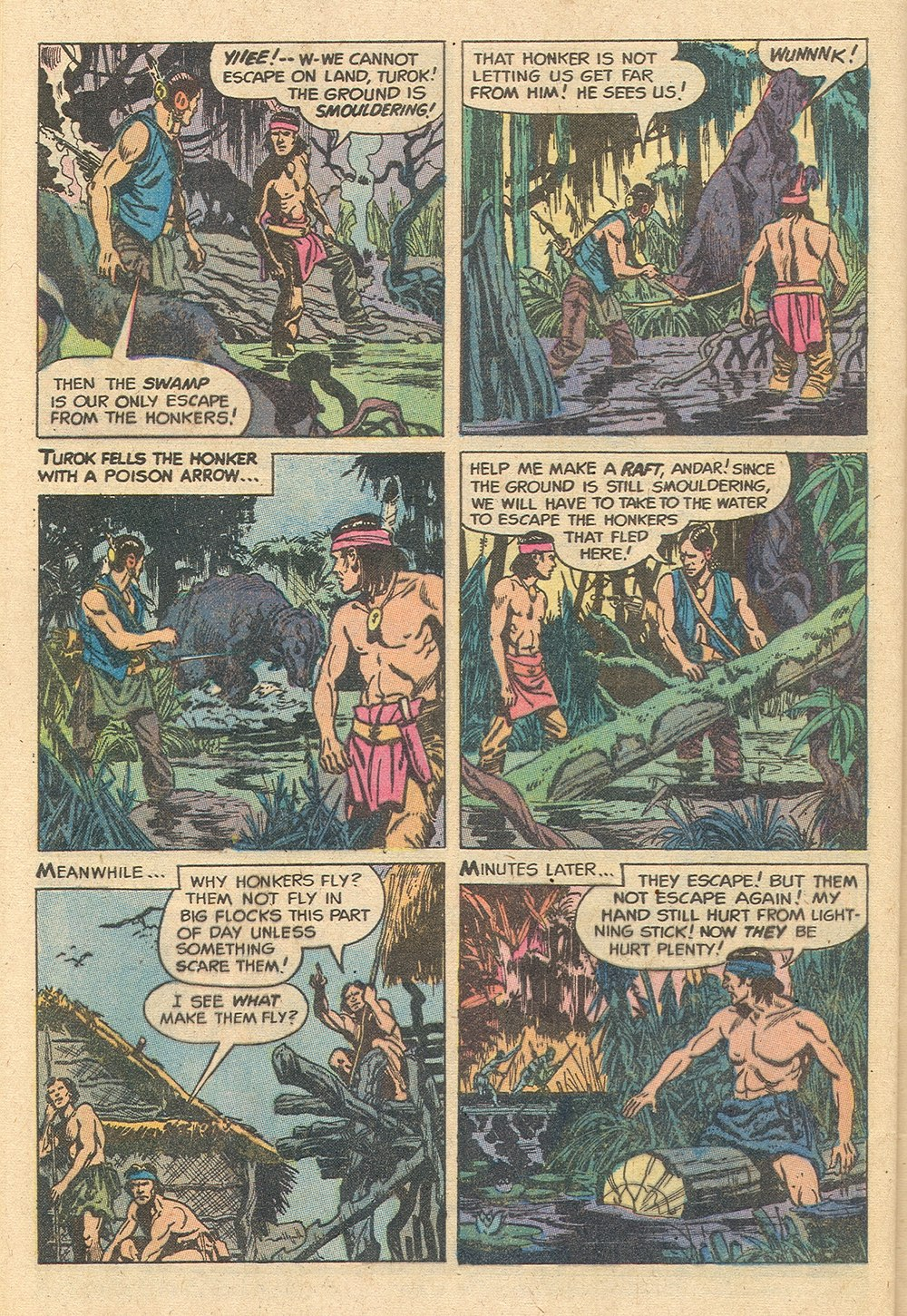 Read online Turok, Son of Stone comic -  Issue #129 - 28