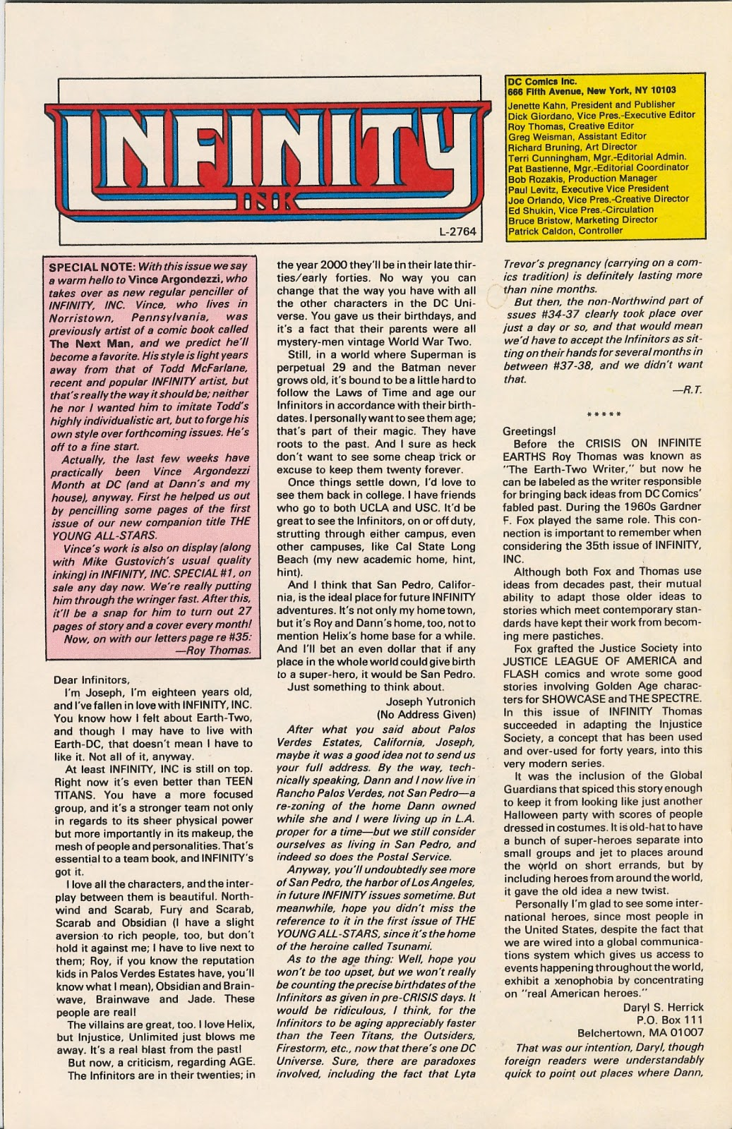 Infinity Inc. (1984) issue 40 - Page 30