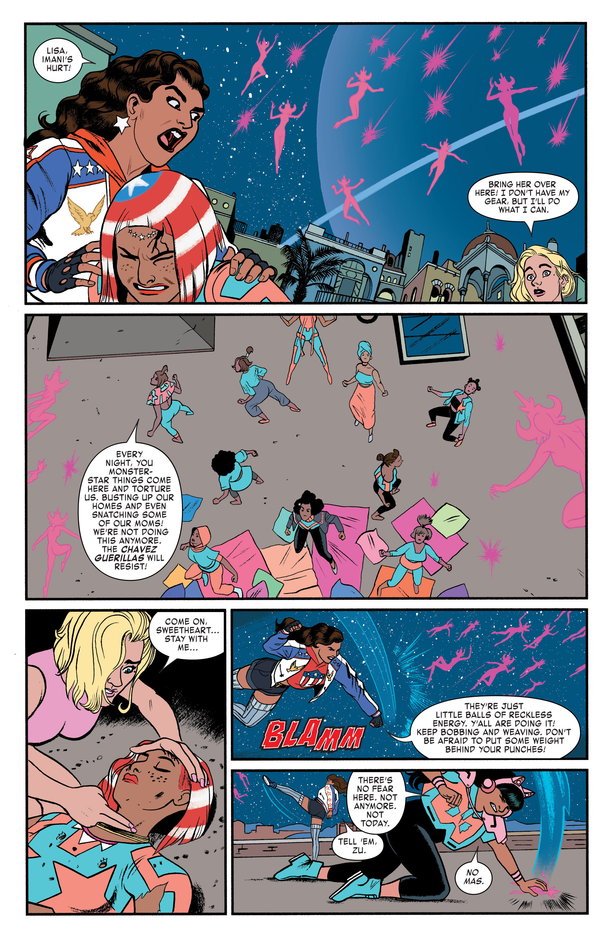 Read online America (2017) comic -  Issue #3 - 17