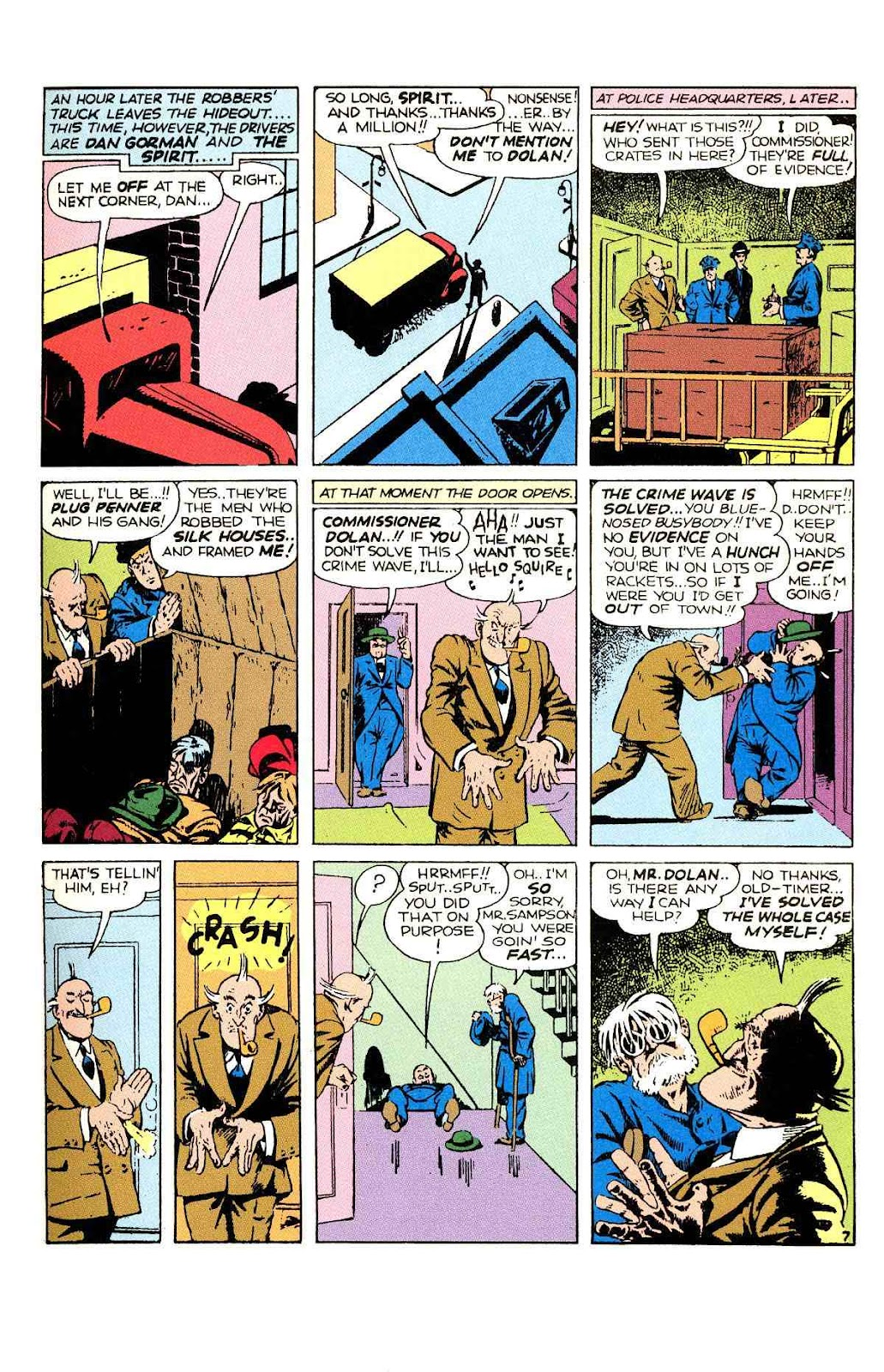 Read online Will Eisner's The Spirit Archives comic -  Issue # TPB 2 (Part 1) - 15
