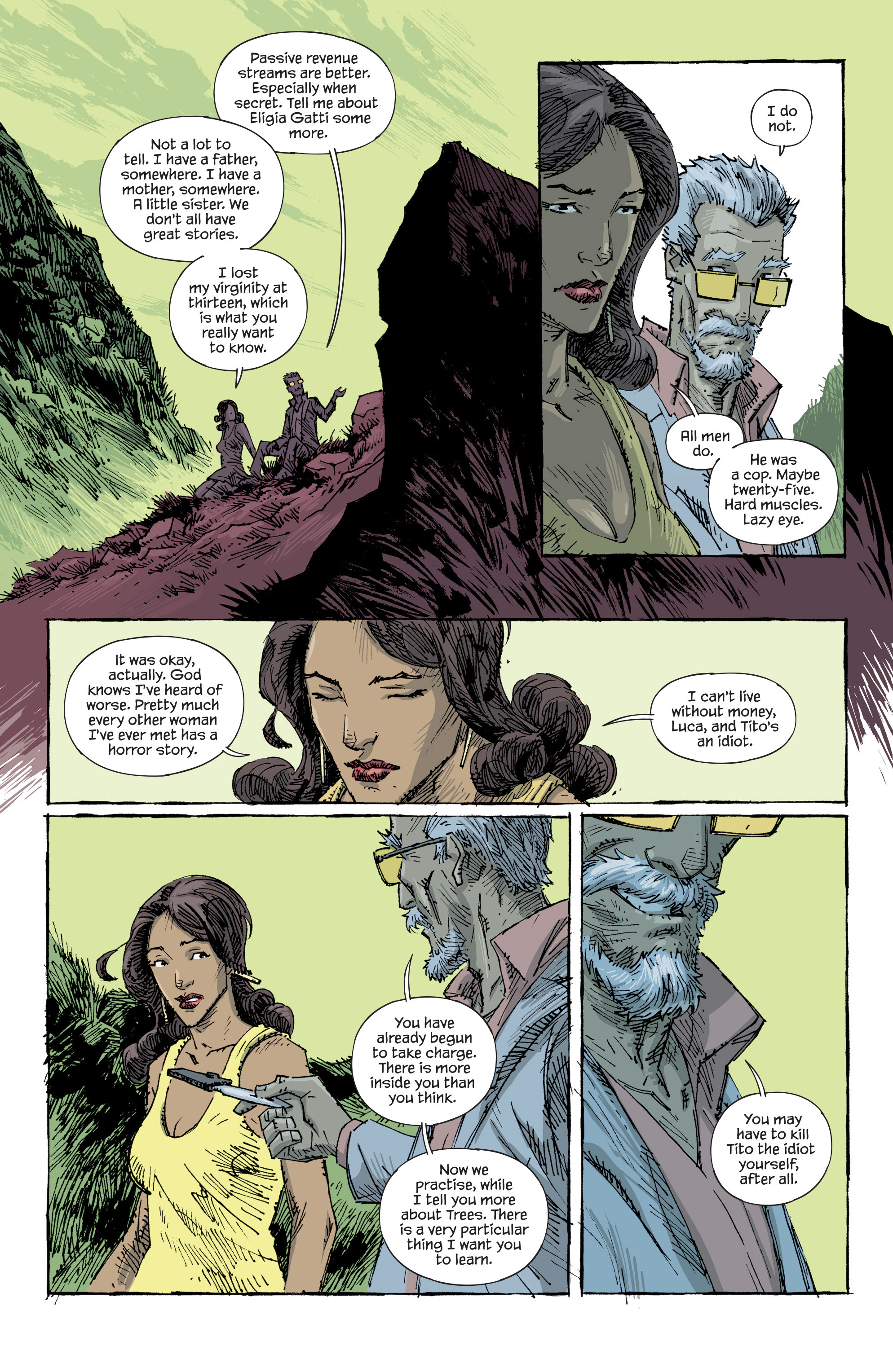 Read online Trees comic -  Issue #7 - 8