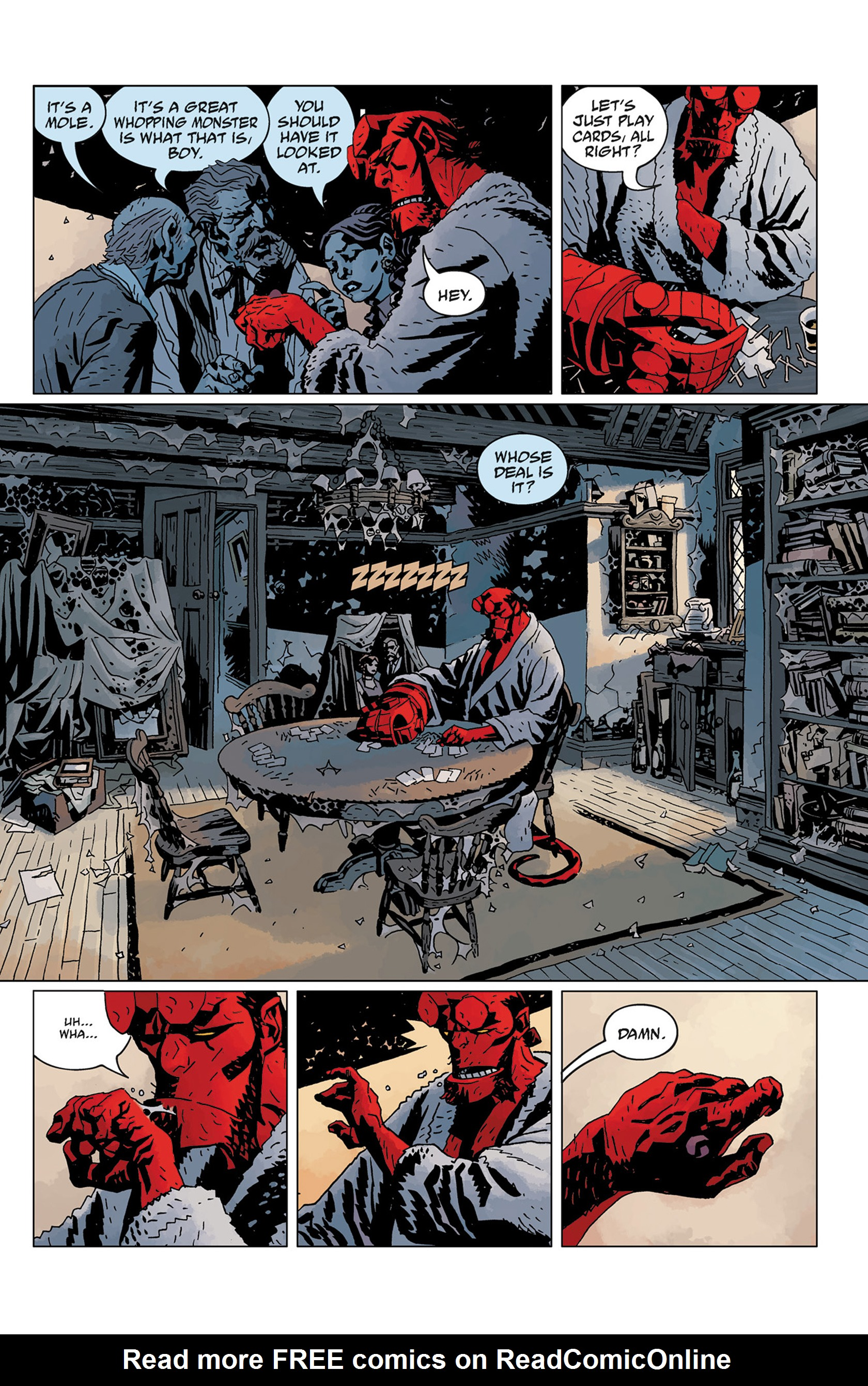 Read online Hellboy: The Crooked Man and Others comic -  Issue # TPB - 137