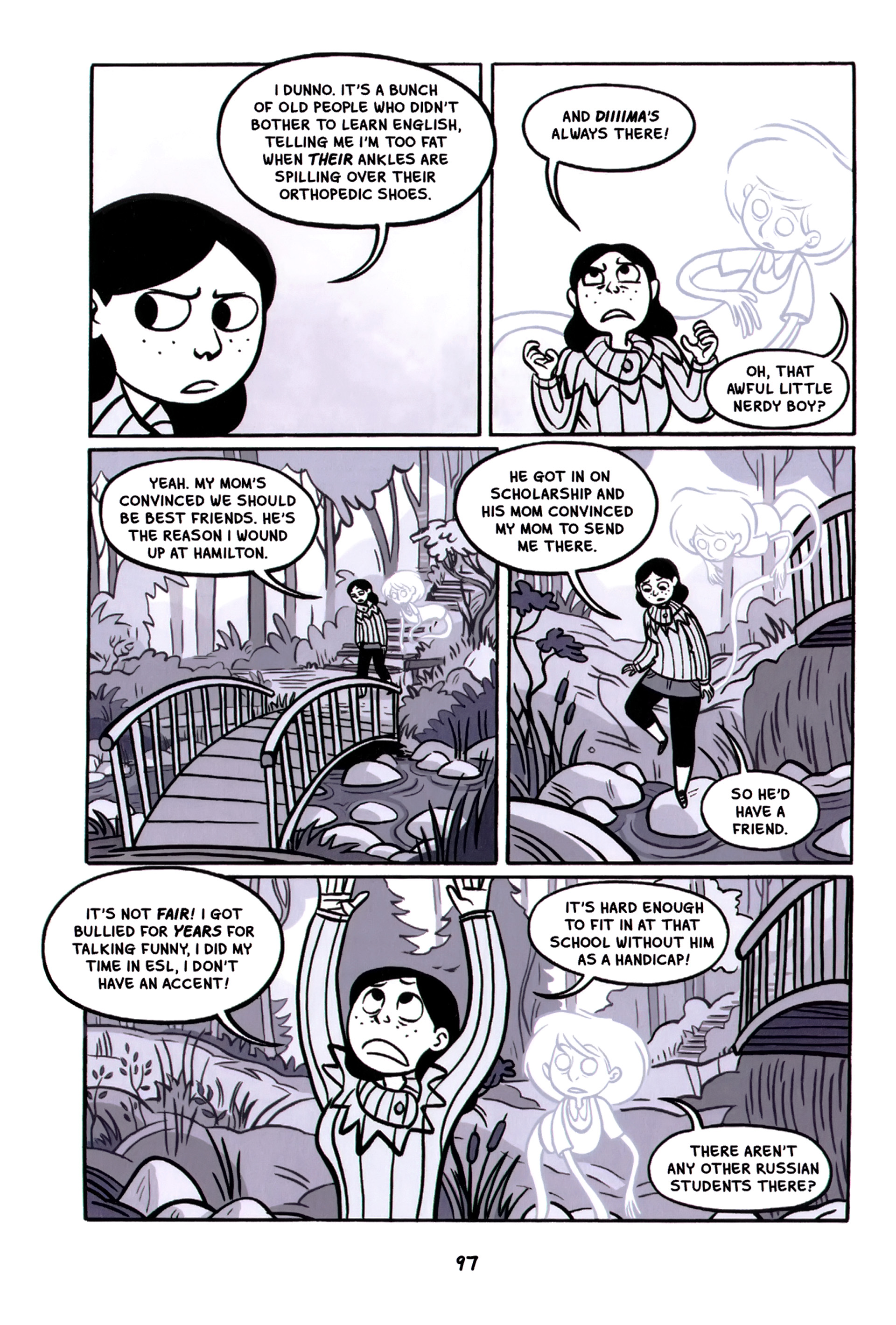 Read online Anya's Ghost comic -  Issue #1 - 98
