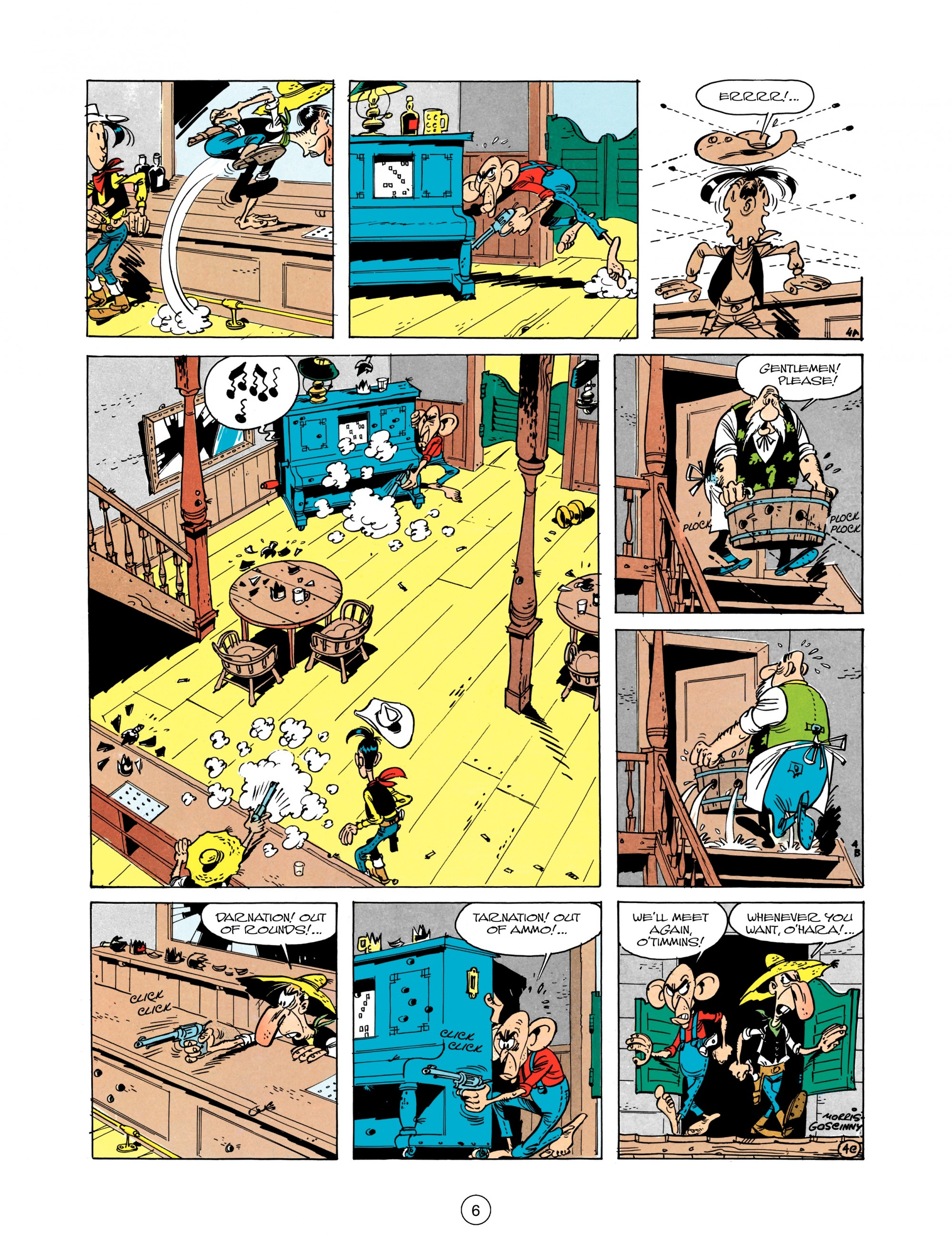 Read online A Lucky Luke Adventure comic -  Issue #12 - 6