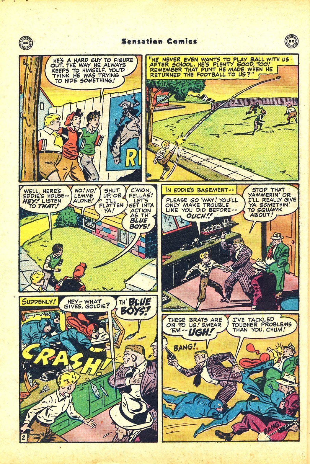 Read online Sensation (Mystery) Comics comic -  Issue #81 - 18