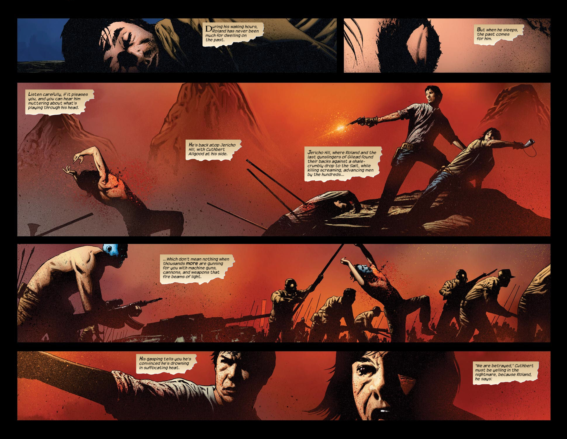 Read online Dark Tower: The Gunslinger - The Way Station comic -  Issue #3 - 4