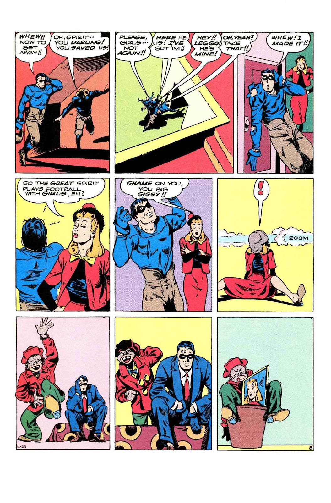 Read online Will Eisner's The Spirit Archives comic -  Issue # TPB 3 (Part 2) - 69