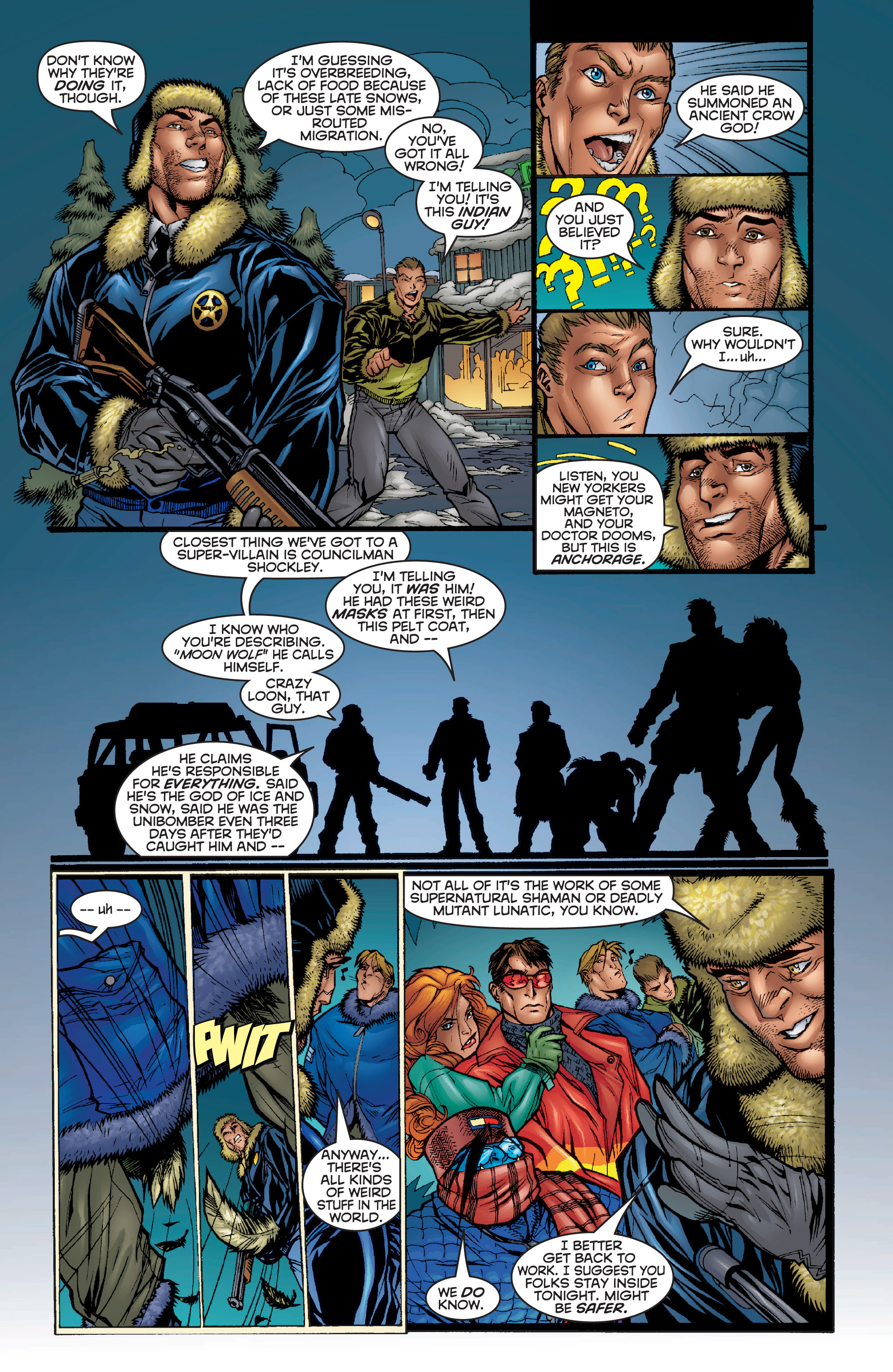 Read online Uncanny X-Men (1963) comic -  Issue #357 - 9