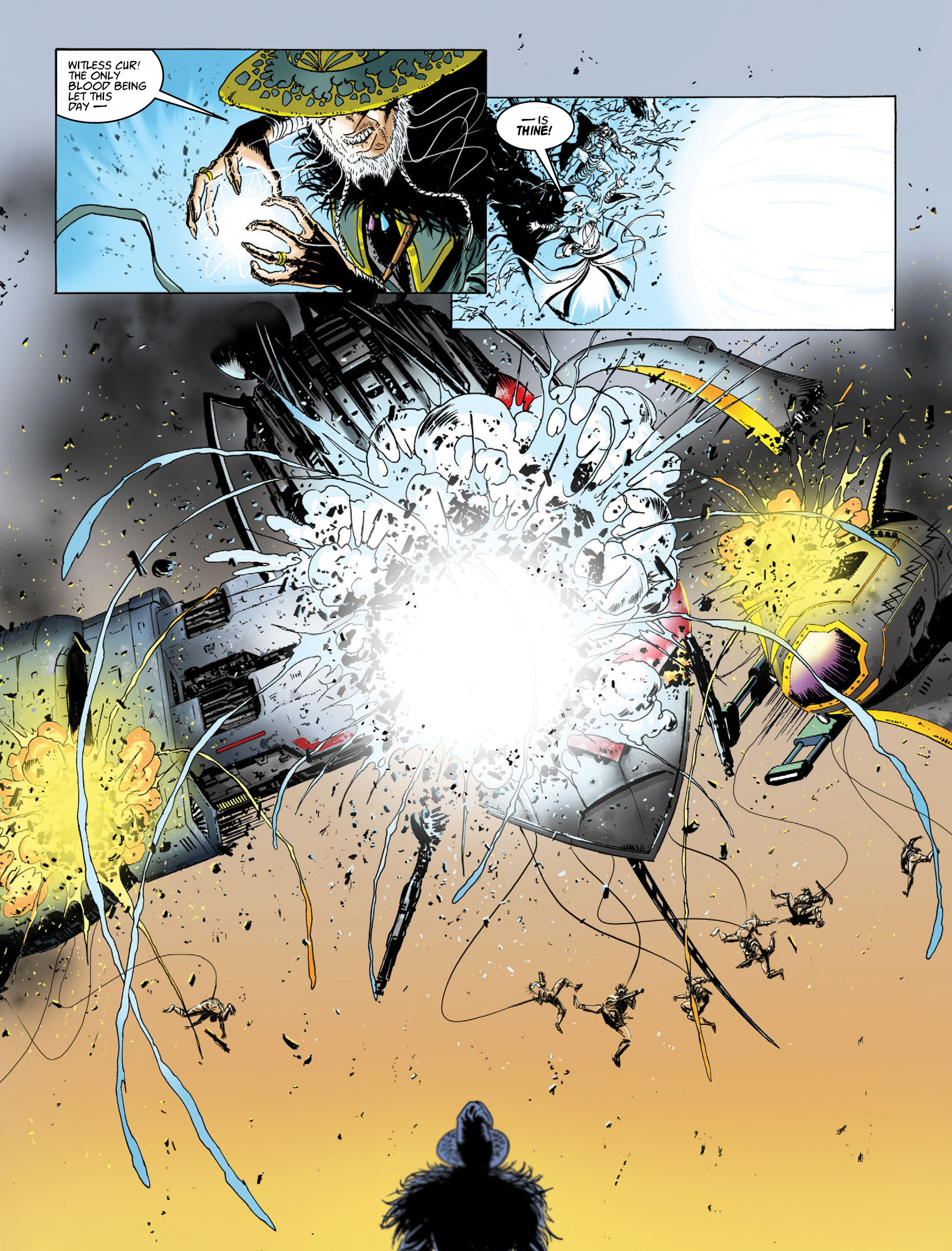 Read online 2000 AD comic -  Issue #2014 - 12