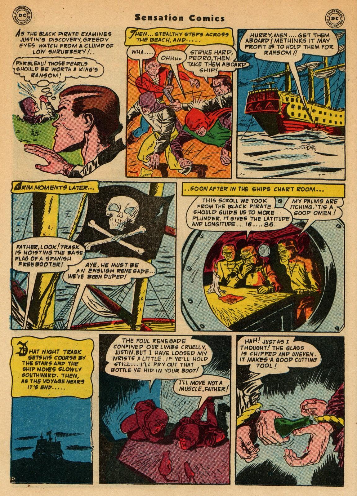 Read online Sensation (Mystery) Comics comic -  Issue #51 - 36