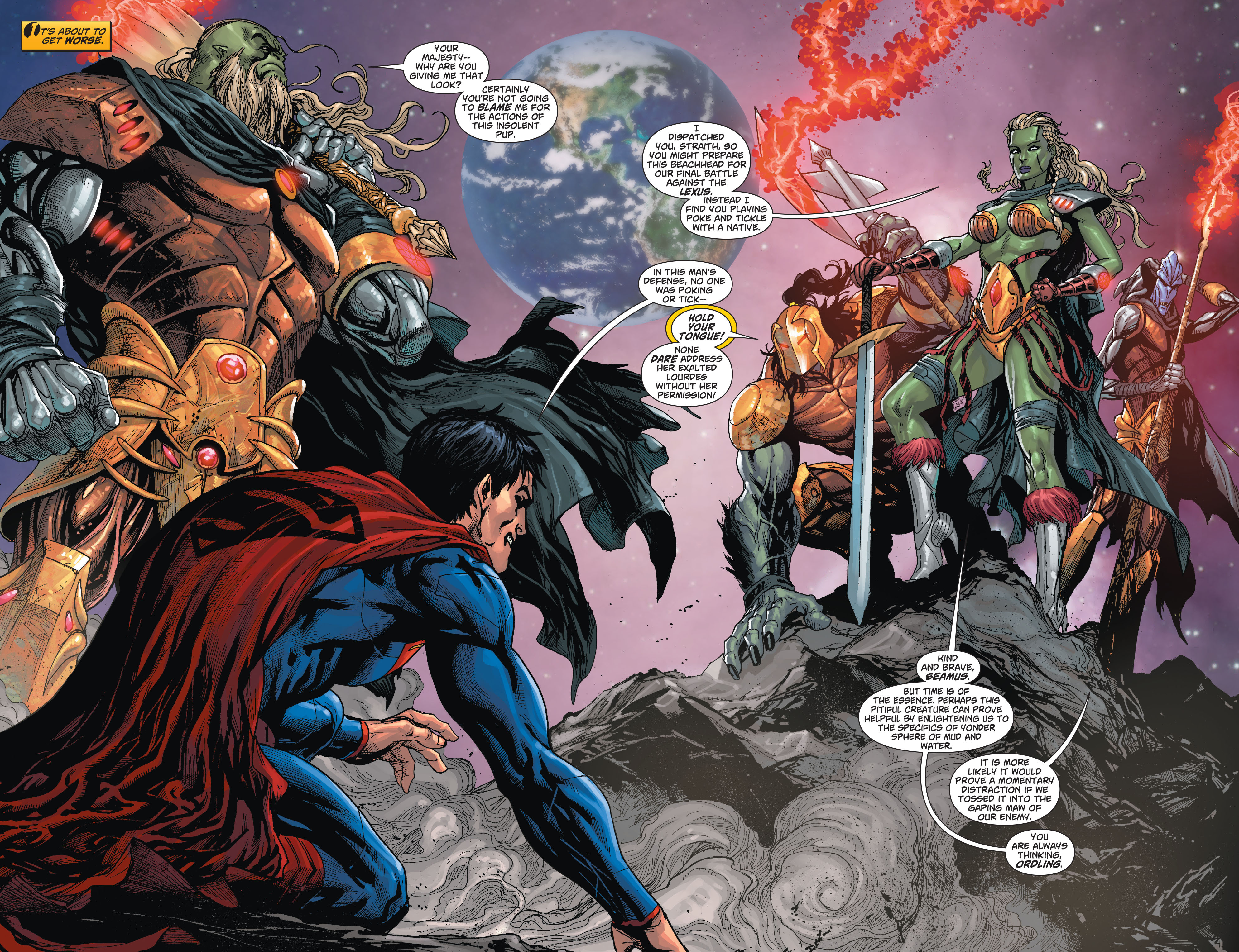 Read online Action Comics (2011) comic -  Issue #23 - 4