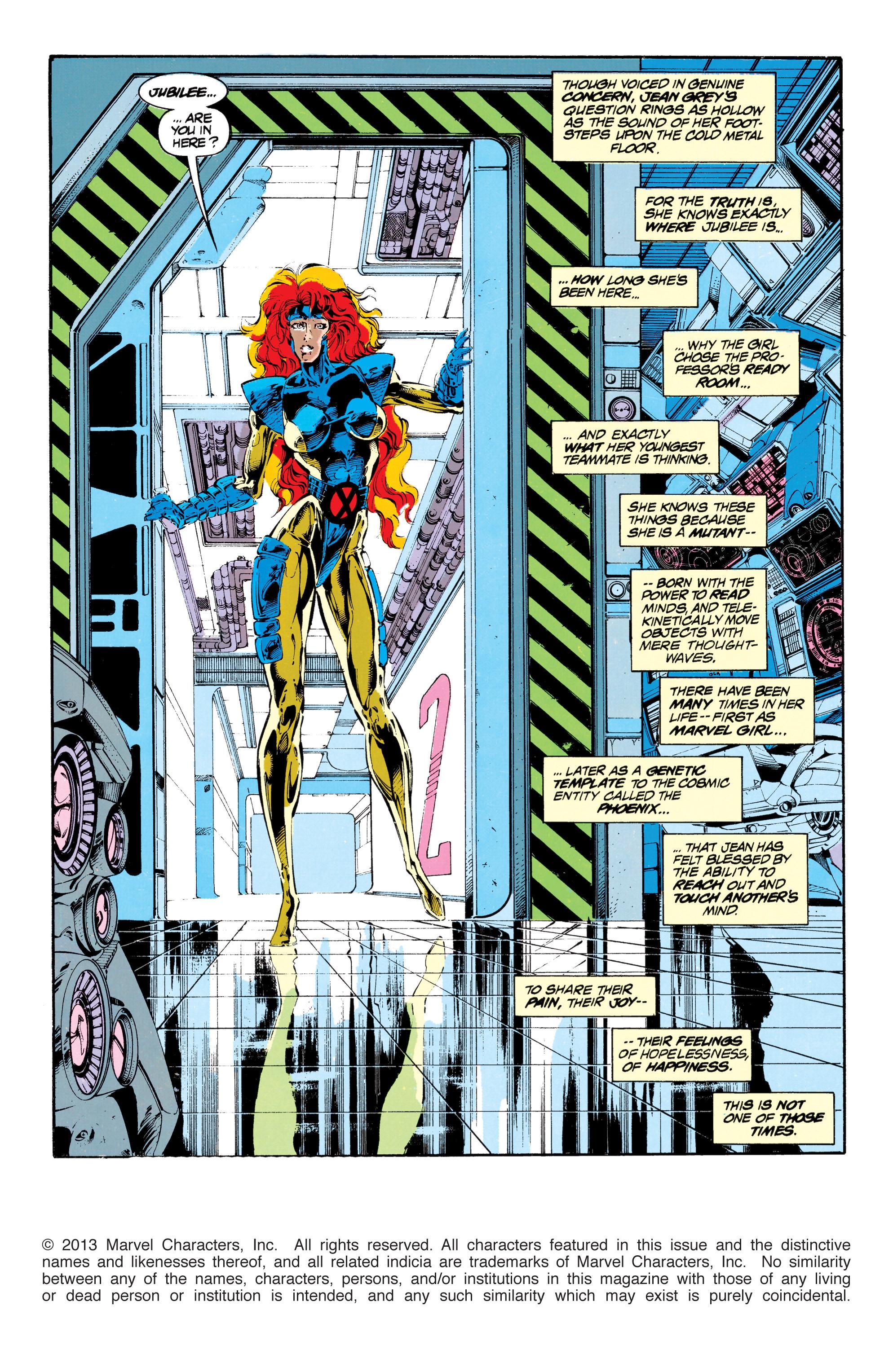 Read online Uncanny X-Men (1963) comic -  Issue #303 - 2