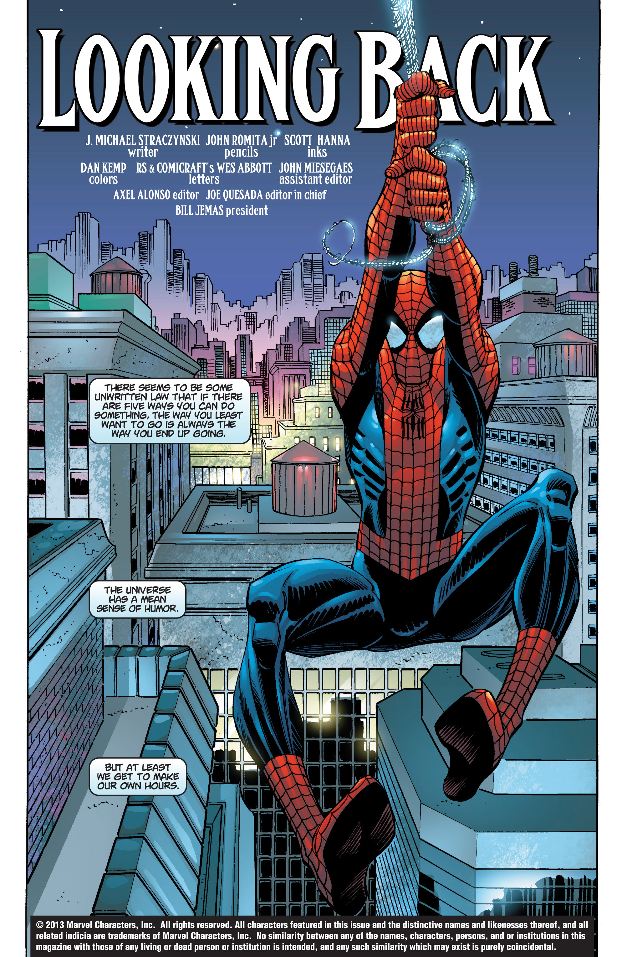 The Amazing Spider-Man (1999) 41 Page 1
