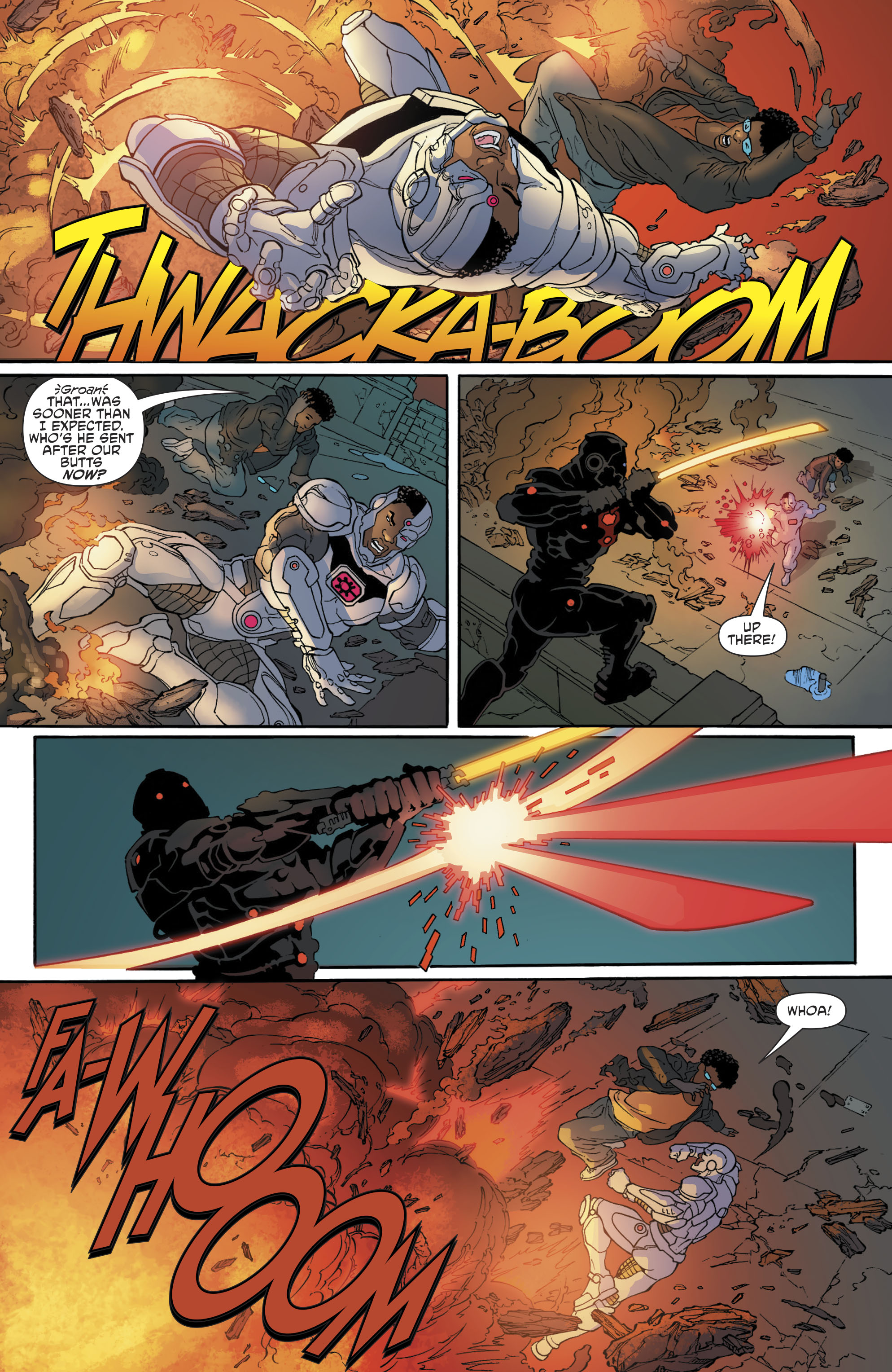 Read online Cyborg (2016) comic -  Issue #13 - 8
