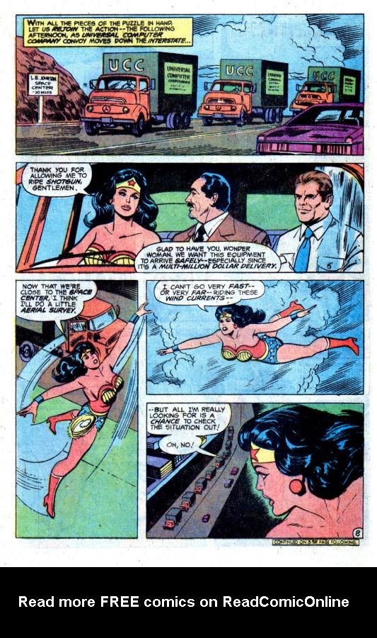 Read online Wonder Woman (1942) comic -  Issue #256 - 10