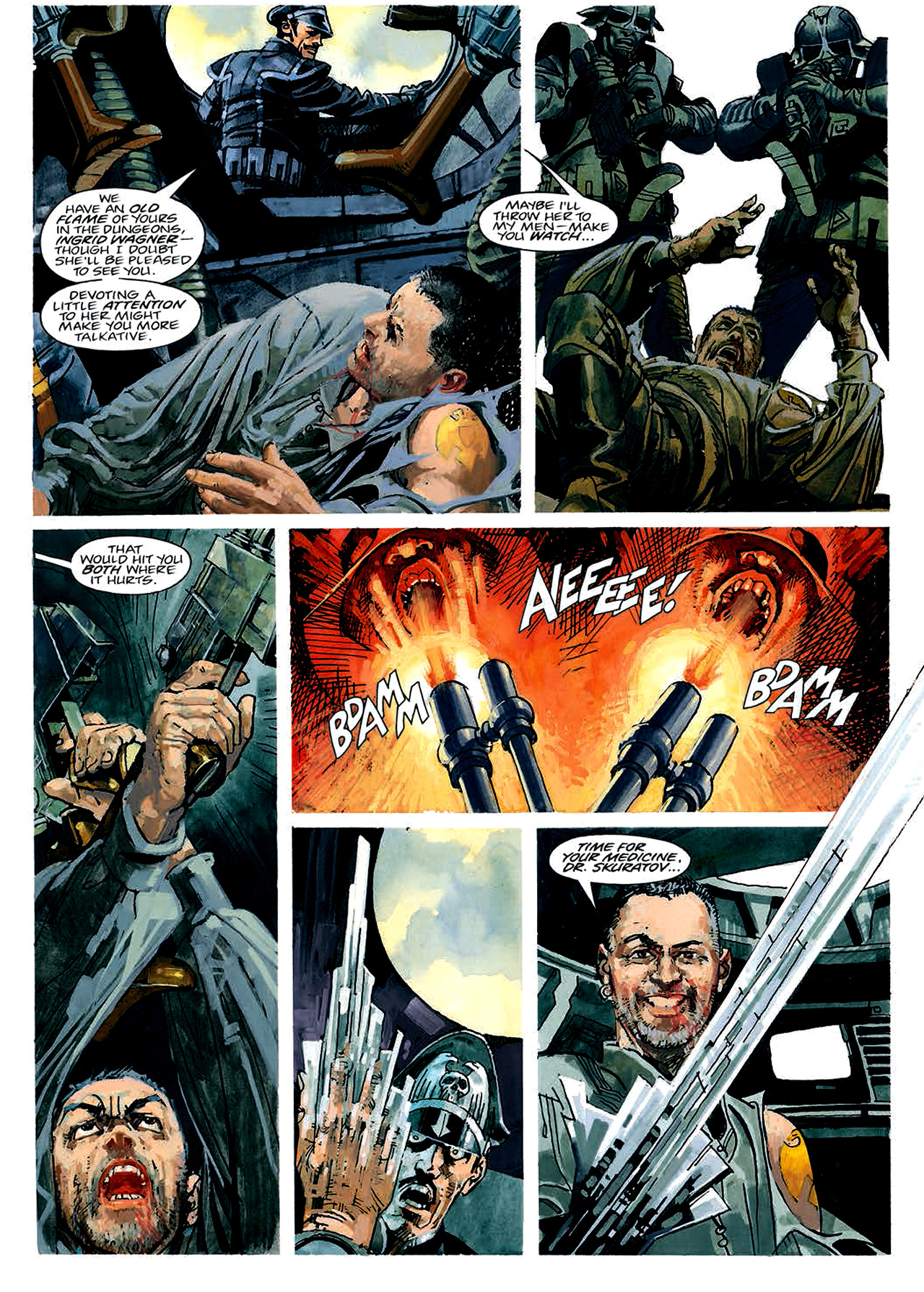 Read online Nikolai Dante comic -  Issue # TPB 4 - 39