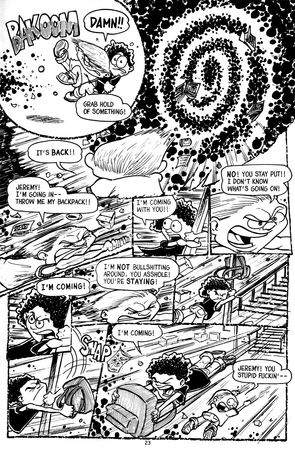 Read online The Adventures of Barry Ween, Boy Genius 3: Monkey Tales comic -  Issue #4 - 25