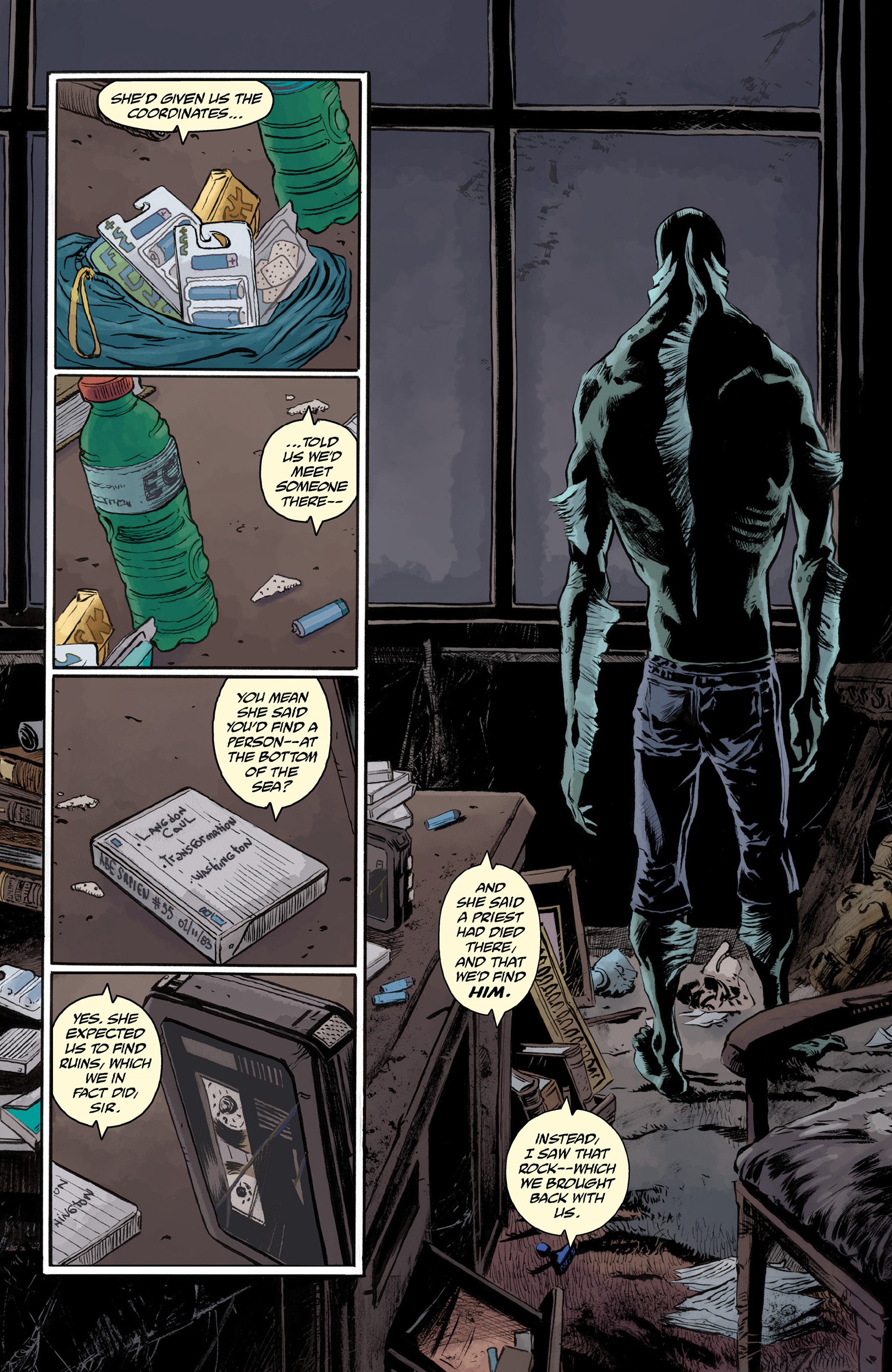 Read online Abe Sapien comic -  Issue #33 - 10