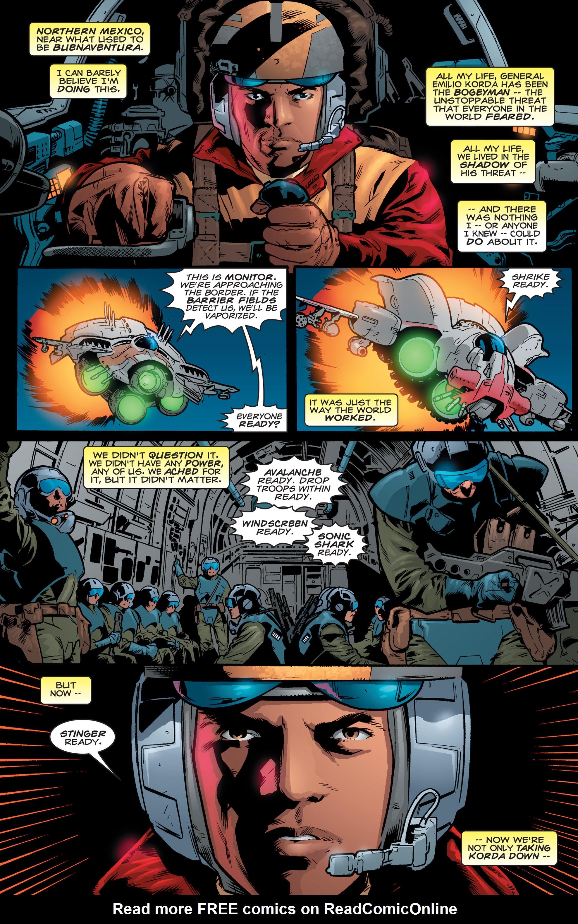 Read online Shockrockets comic -  Issue # TPB - 127