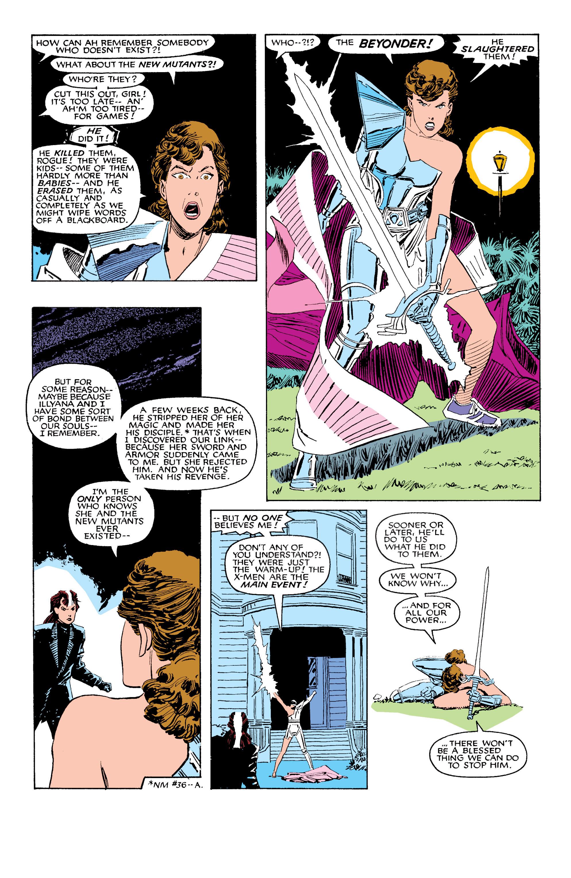Read online Uncanny X-Men (1963) comic -  Issue #203 - 7