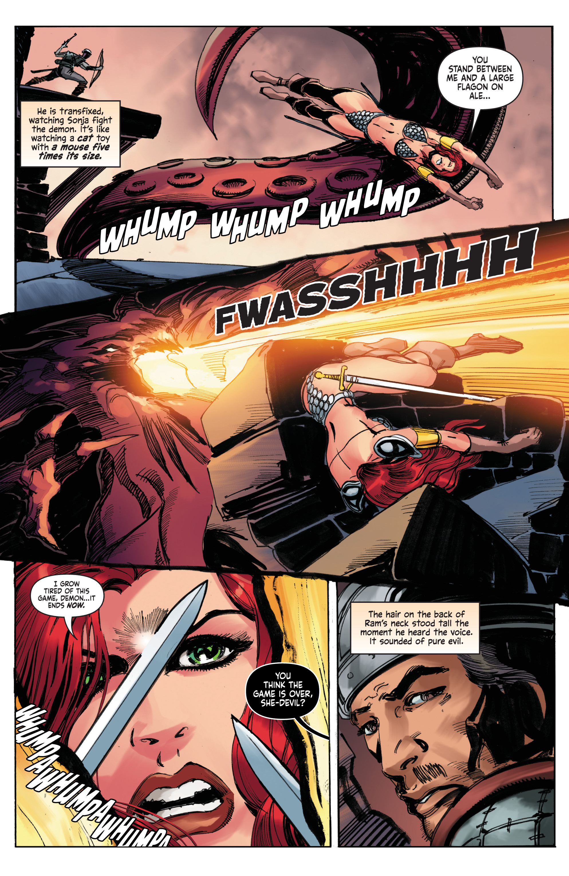 Read online Red Sonja: The Long Walk To Oblivion comic -  Issue # Full - 30