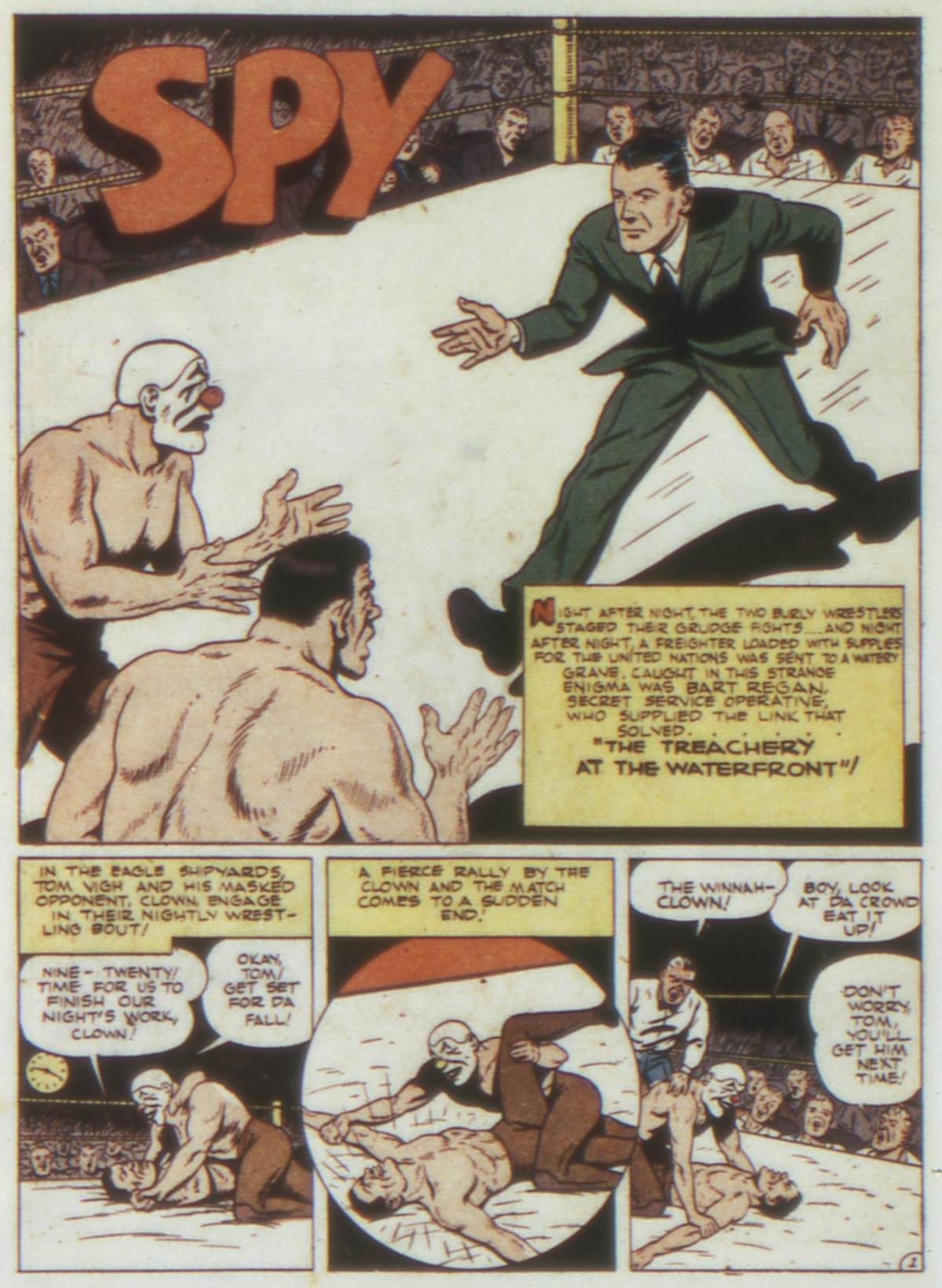 Read online Detective Comics (1937) comic -  Issue #74 - 42
