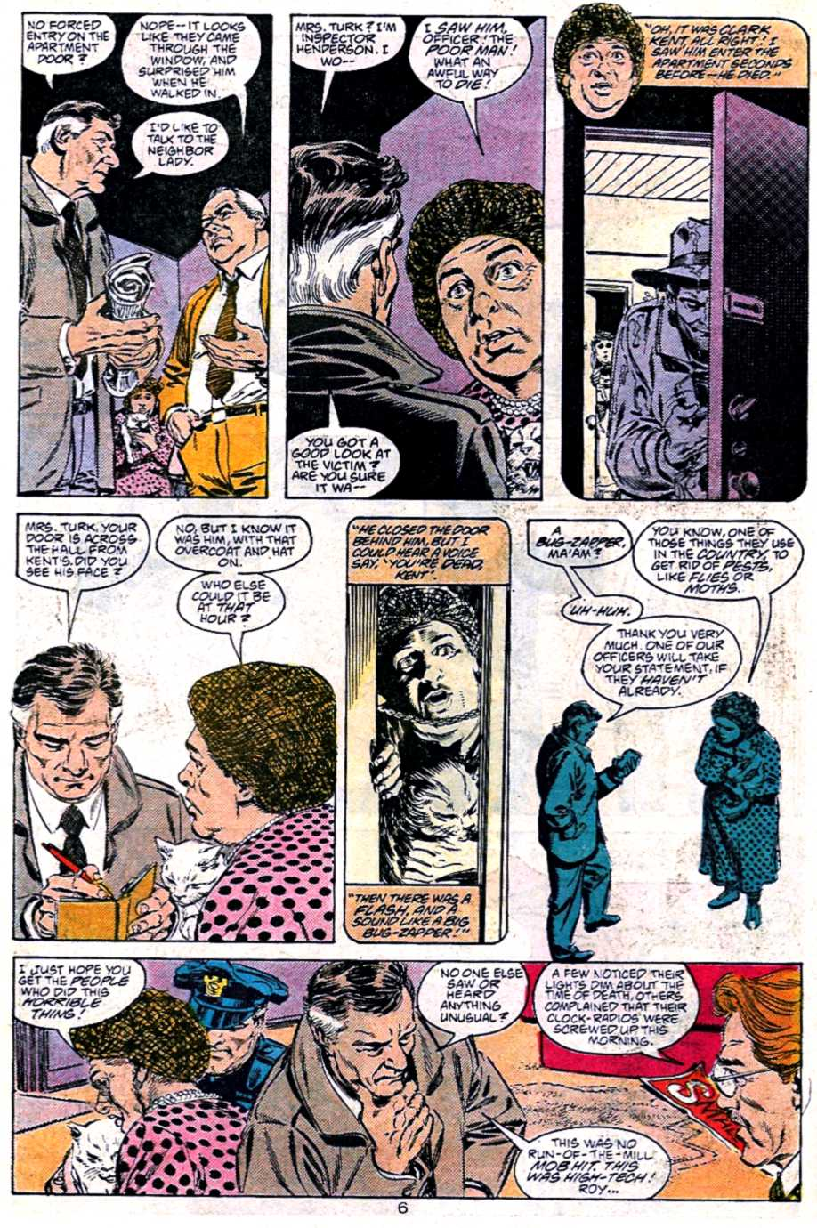 Read online Adventures of Superman (1987) comic -  Issue #451 - 7