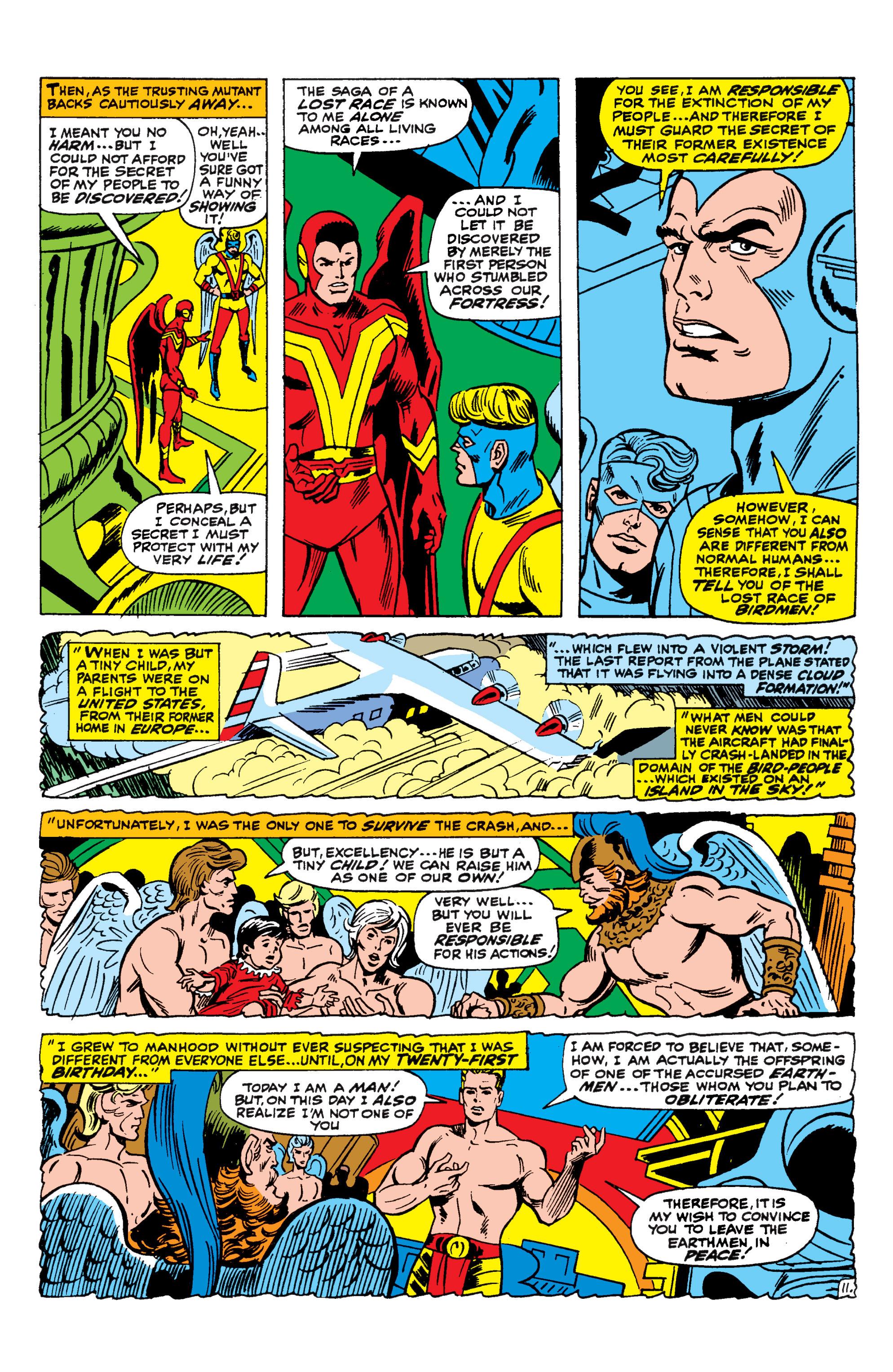 Read online Uncanny X-Men (1963) comic -  Issue #44 - 12