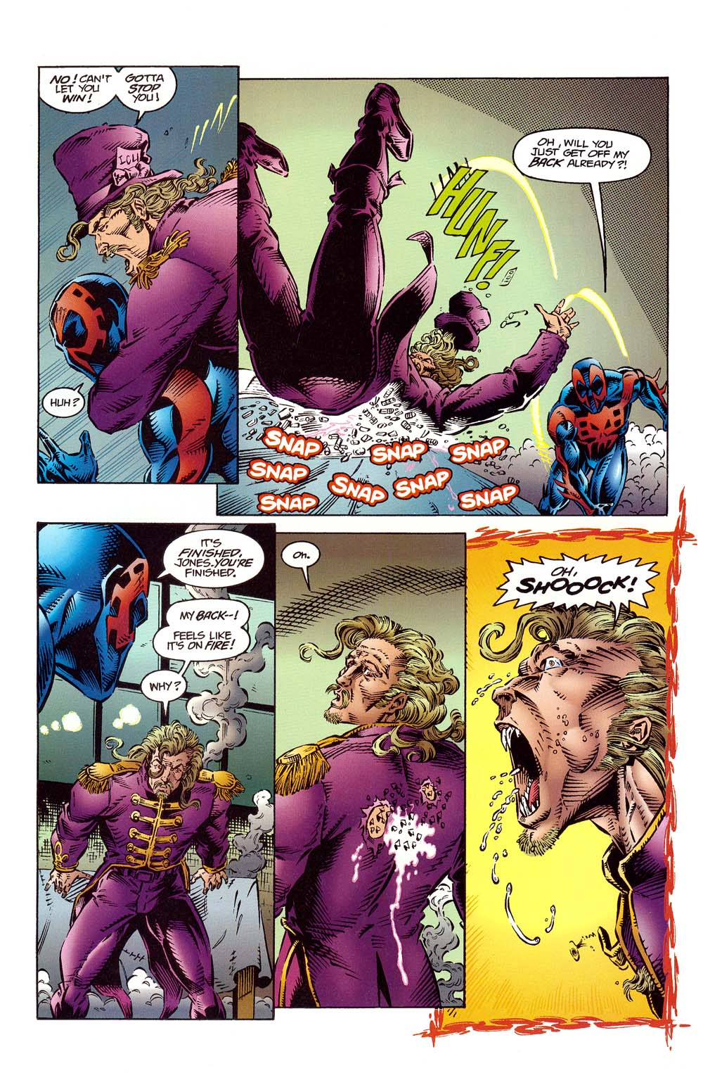 Read online 2099 Unlimited comic -  Issue #10 - 21