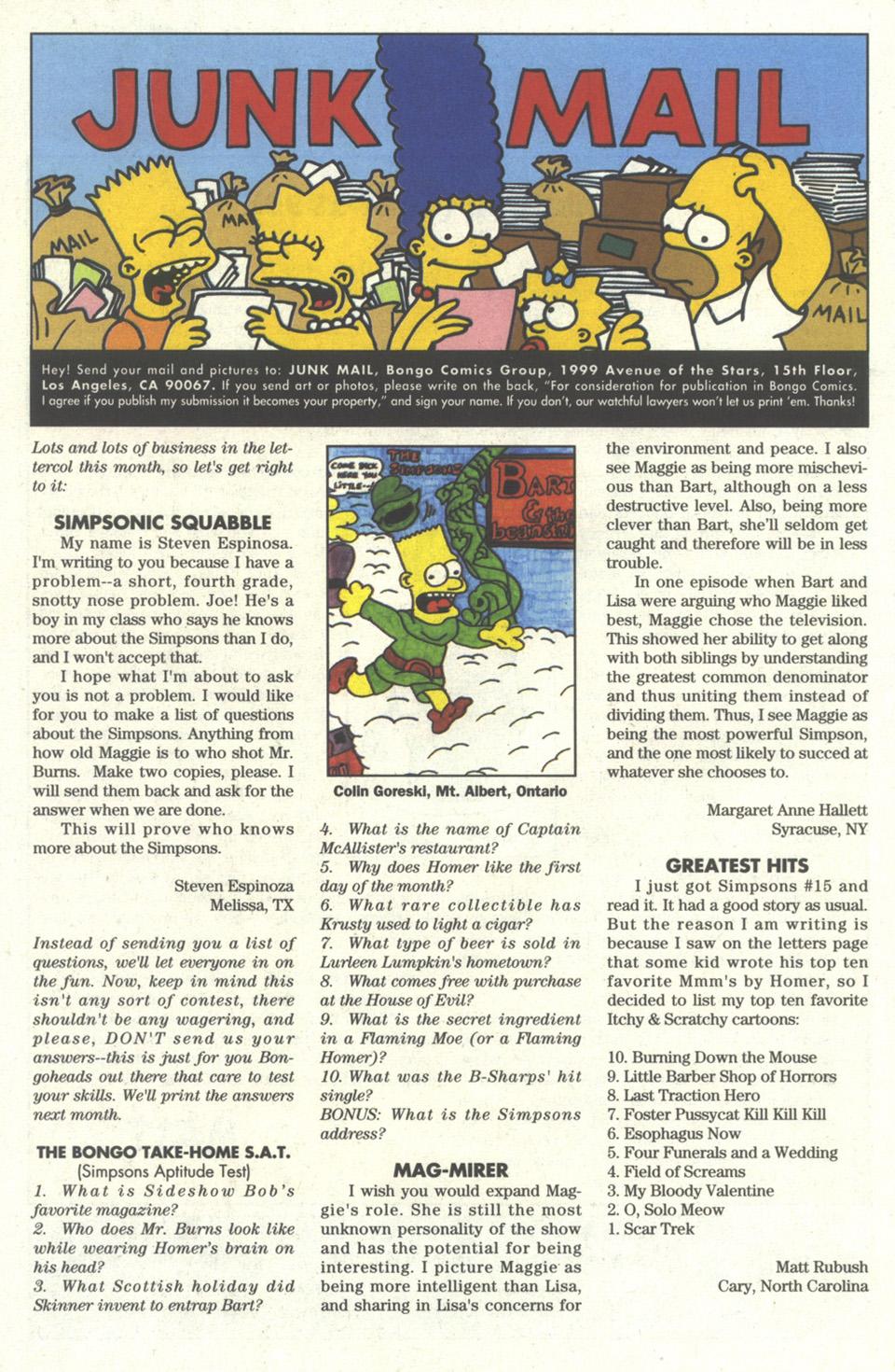 Read online Simpsons Comics comic -  Issue #17 - 23