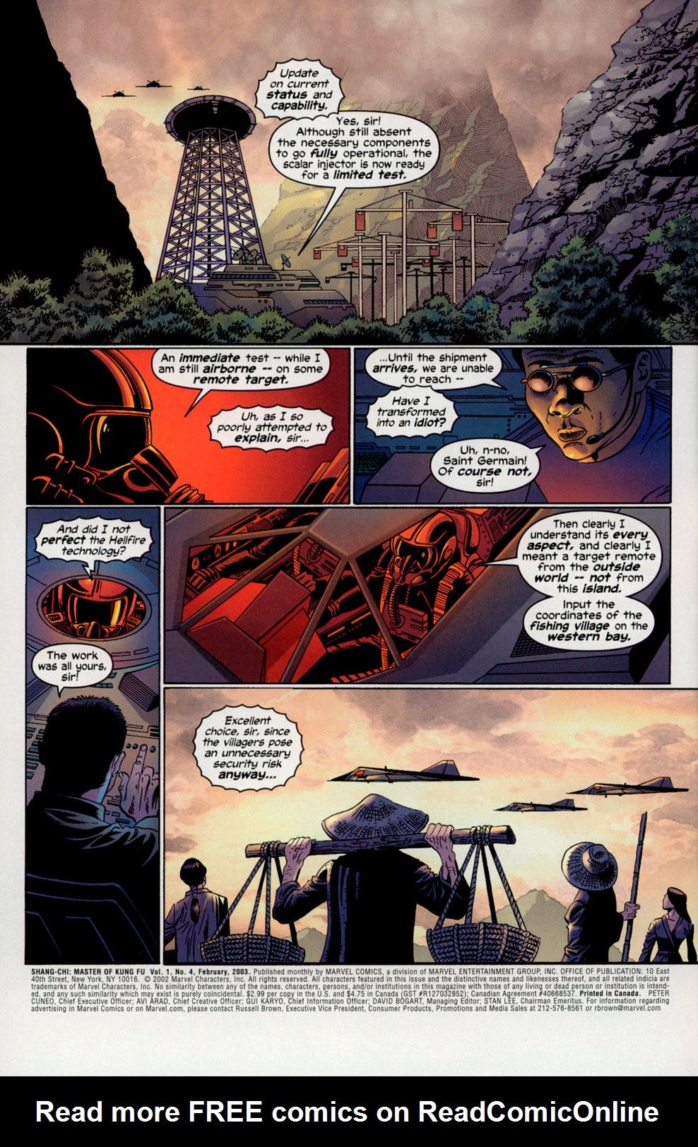 Read online Shang-Chi: Master of Kung Fu comic -  Issue #4 - 3