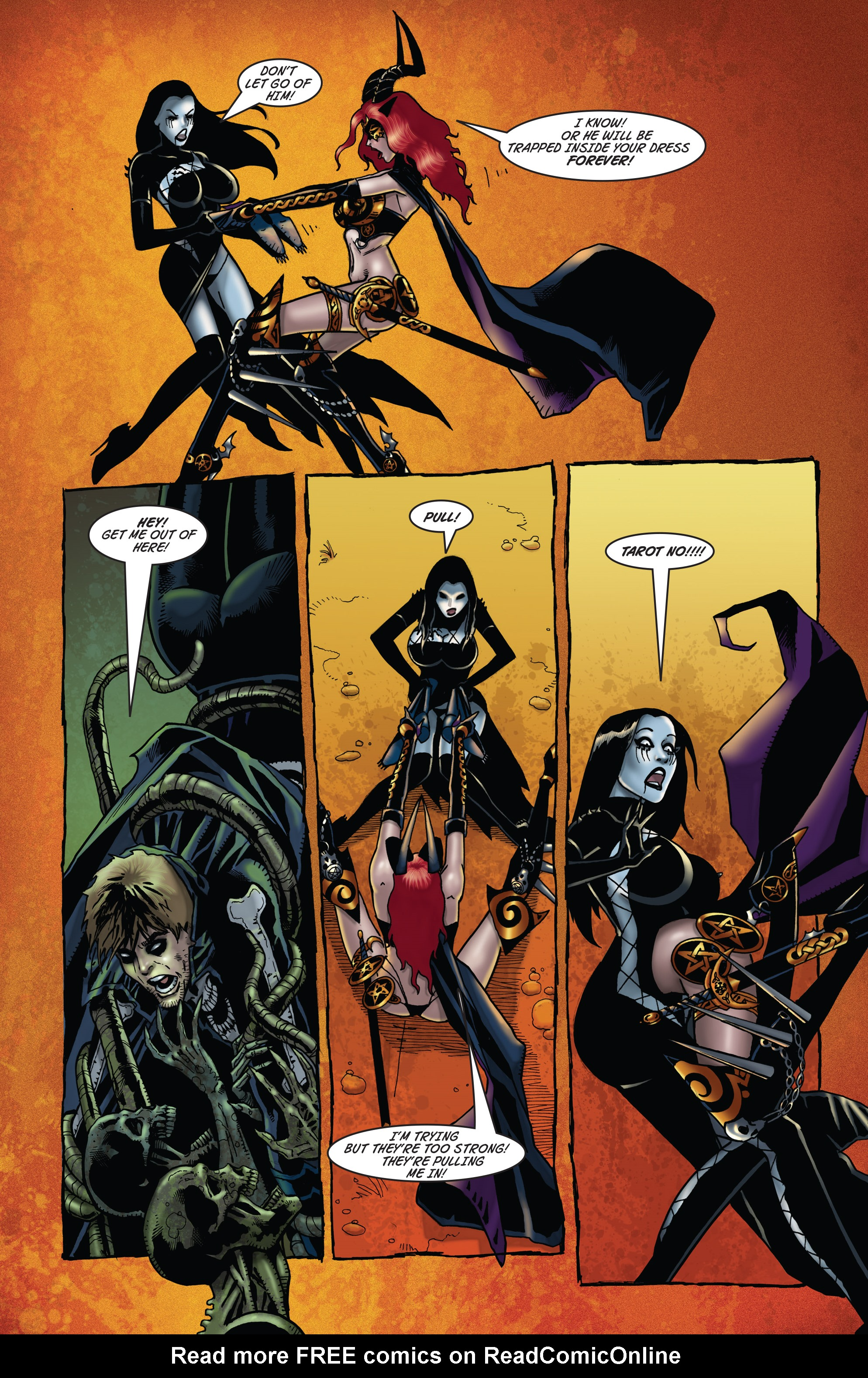 Read online Tarot: Witch of the Black Rose comic -  Issue #104 - 18