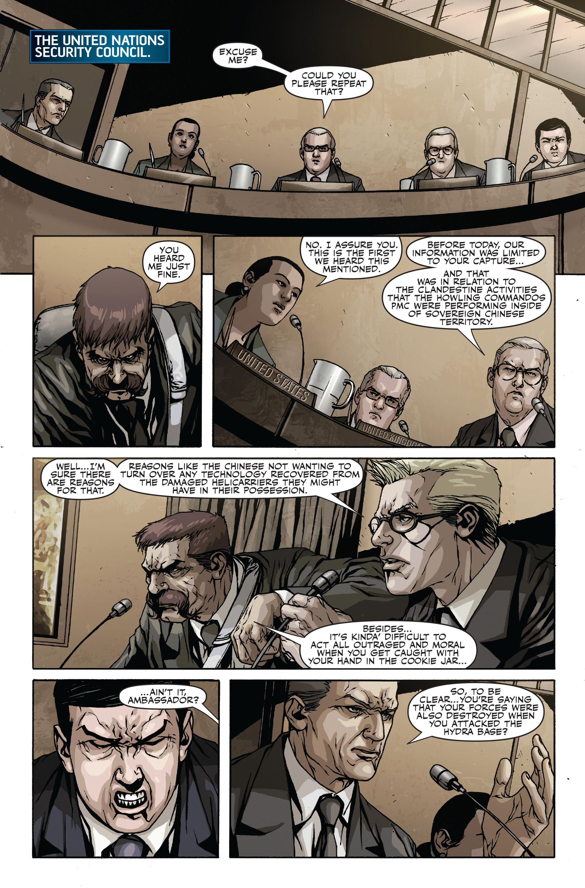 Read online Secret Warriors comic -  Issue #18 - 4