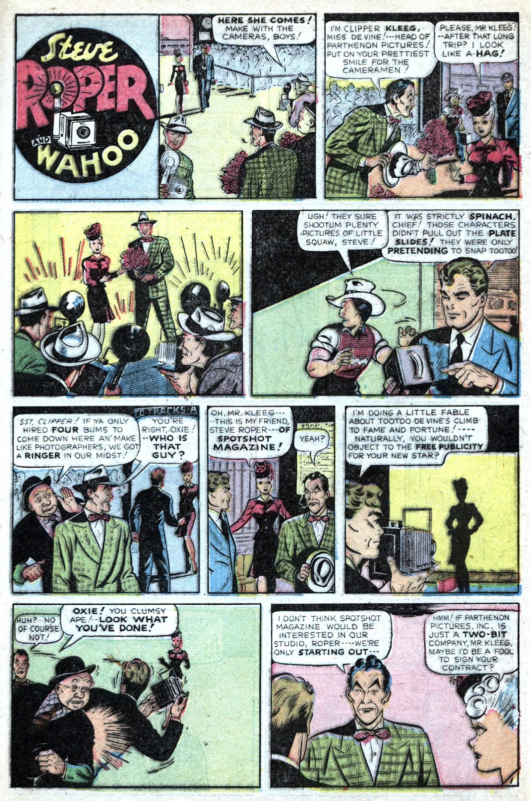 Read online Famous Funnies comic -  Issue #184 - 9