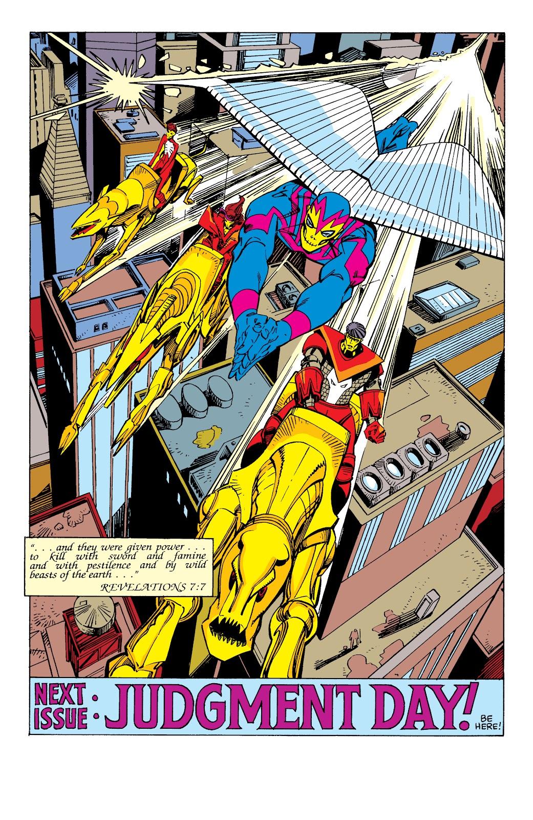 Read online X-Men Milestones: Fall of the Mutants comic -  Issue # TPB (Part 3) - 3