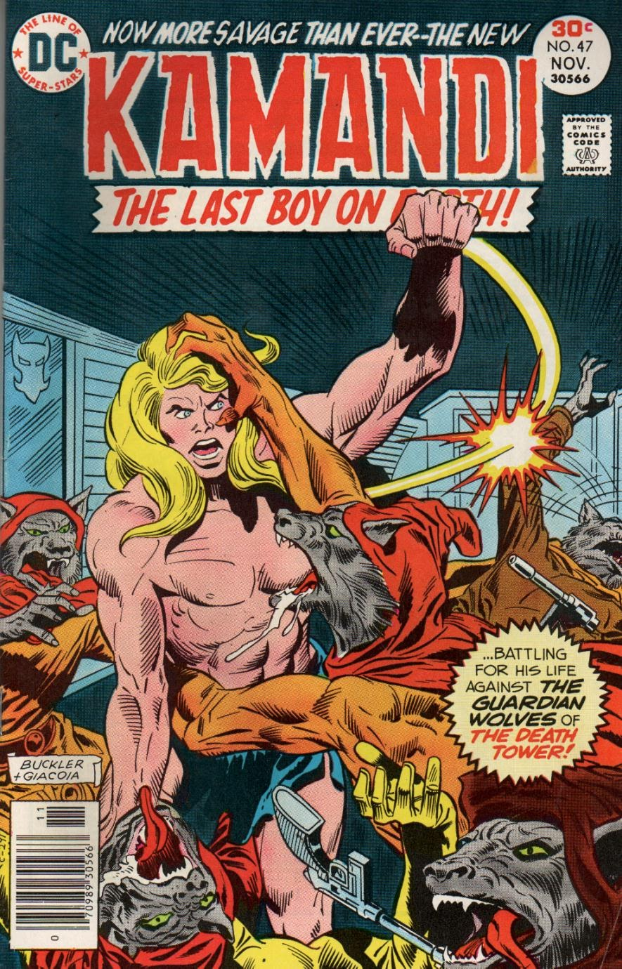 Kamandi, The Last Boy On Earth issue 47 - Page 1